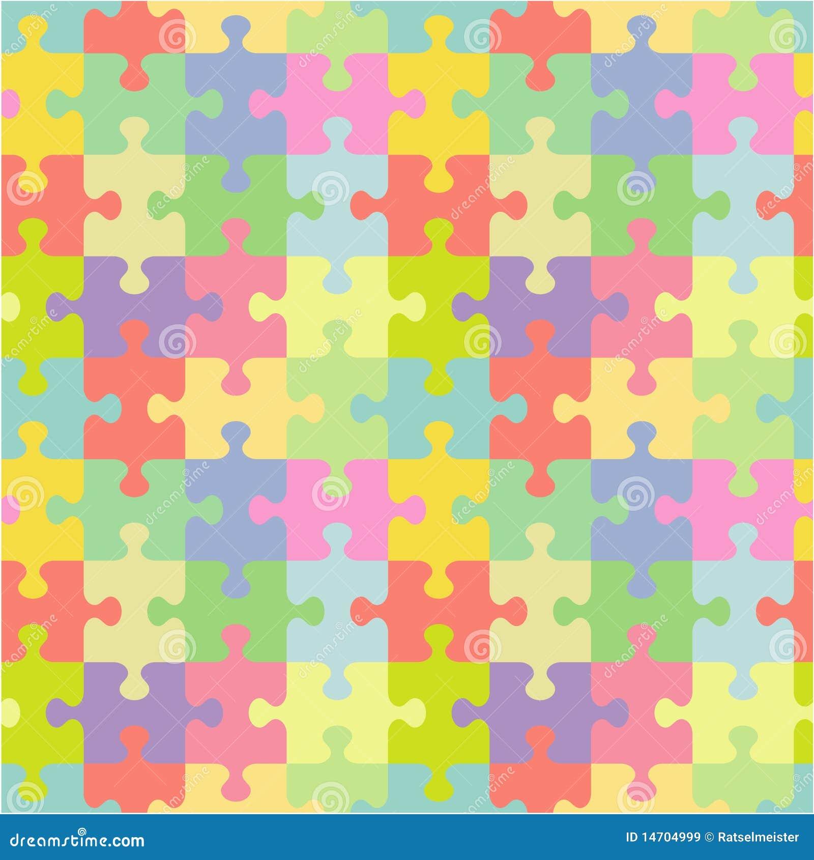 Puzzle Wallpaper Colorful