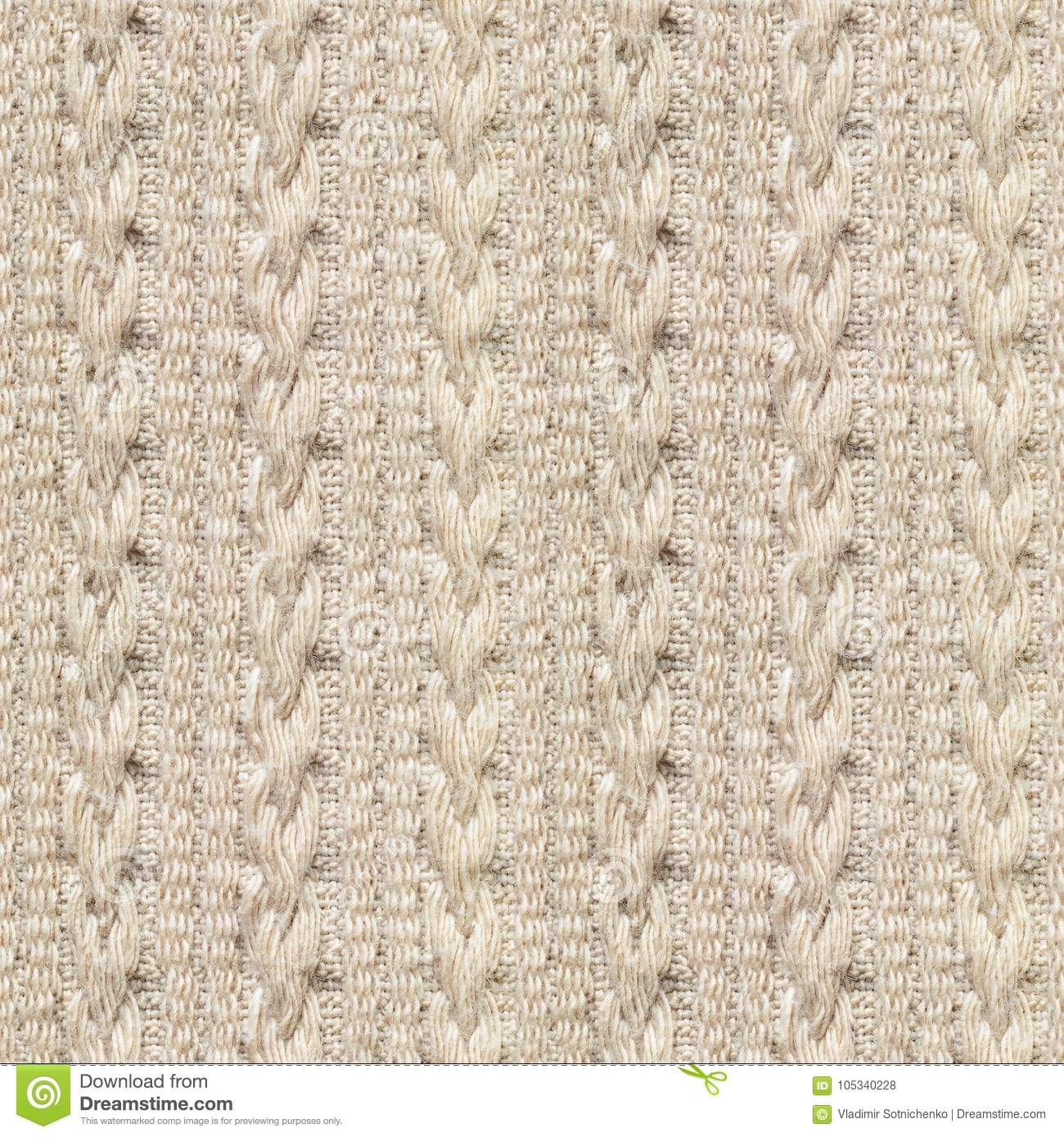 Seamless Knitwear Fabric Texture Stock Photo - Image of cozy, design ...