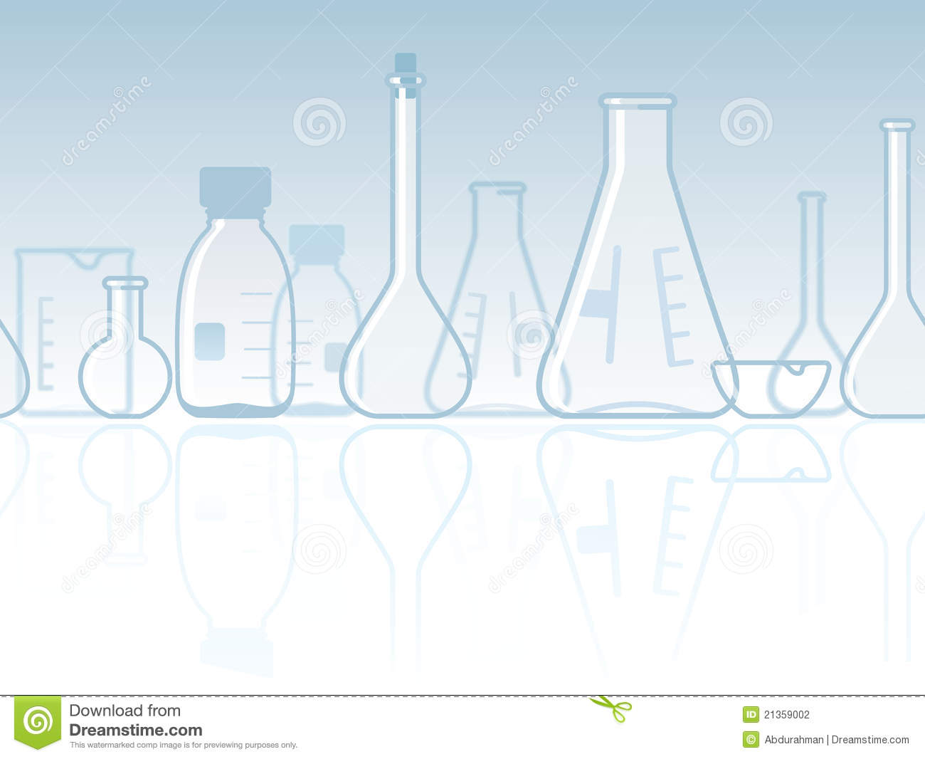 seamless laboratory chemical banner stock vector