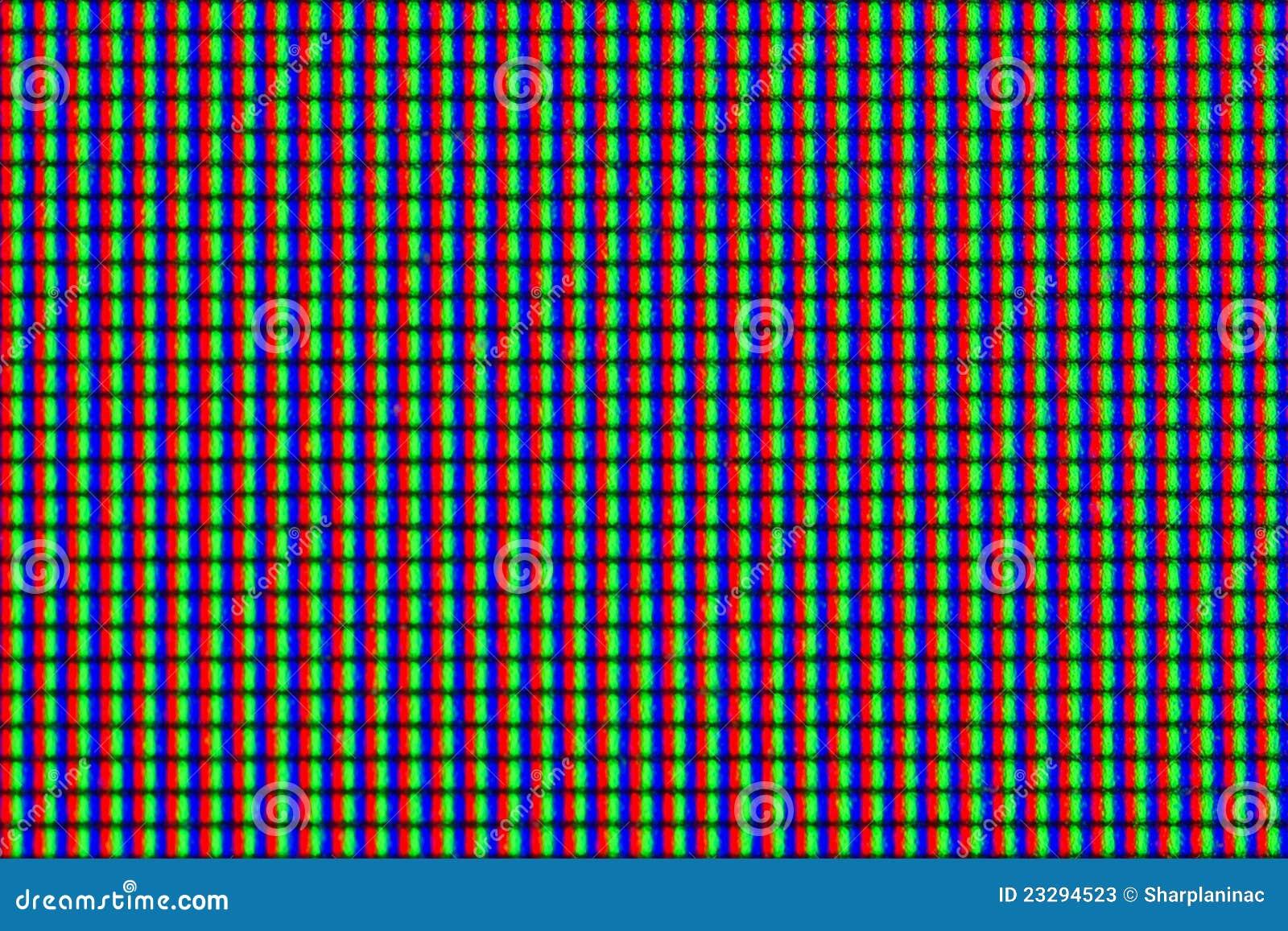 Seamless LCD Screen Pixels Stock Photos - Image: 23294523