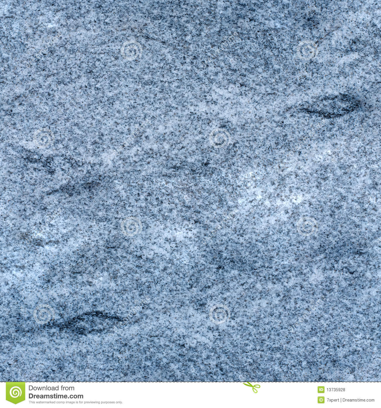 seamless light blue granite texture stock photo