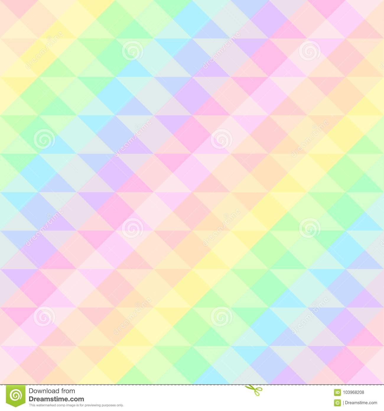 Seamless Bright Festive Pattern Of Iridescent Diagonal And