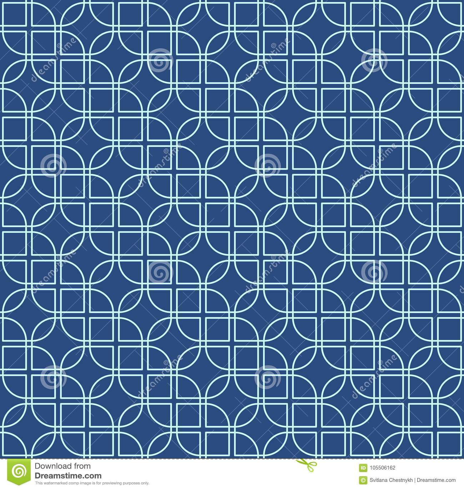 Seamless Line Pattern Abstract Geo Background Dark