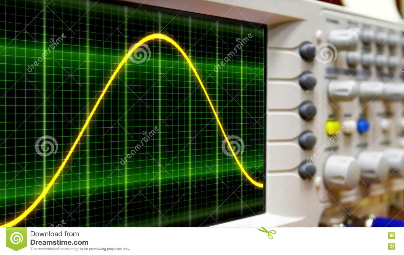 Abstract moving background white dots connected on fresh green stock - Seamless Loop Animation Moving Sine Wave On An Oscilloscope Stock Footage
