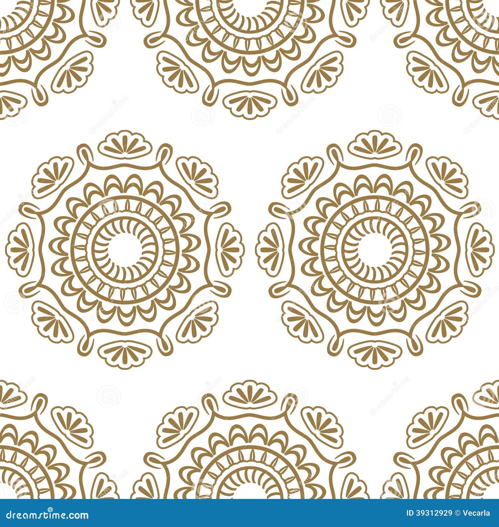 Seamless Luxury Pattern Stock Vector Illustration Of