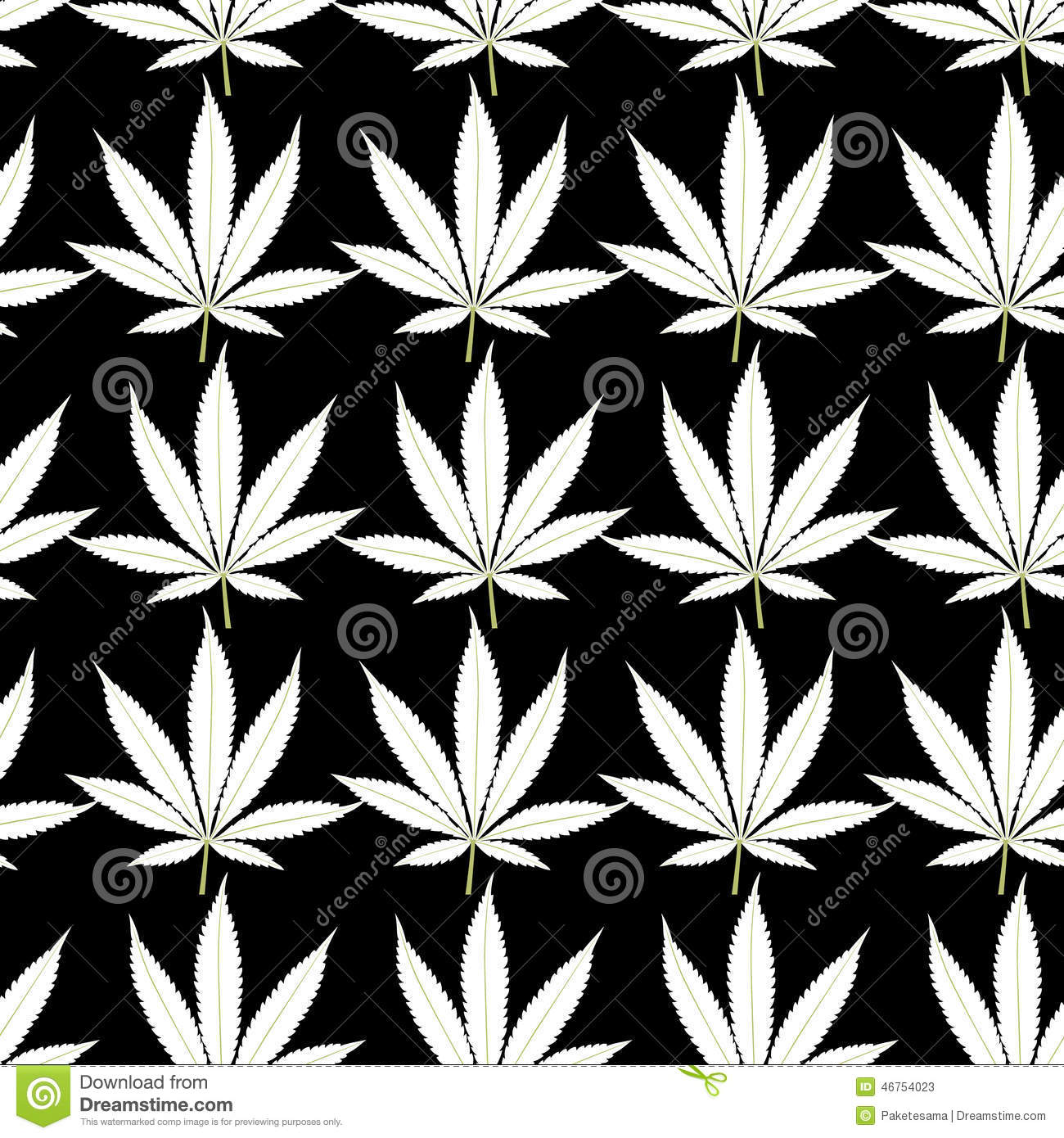 Wallpaper Foglia di Marijuana