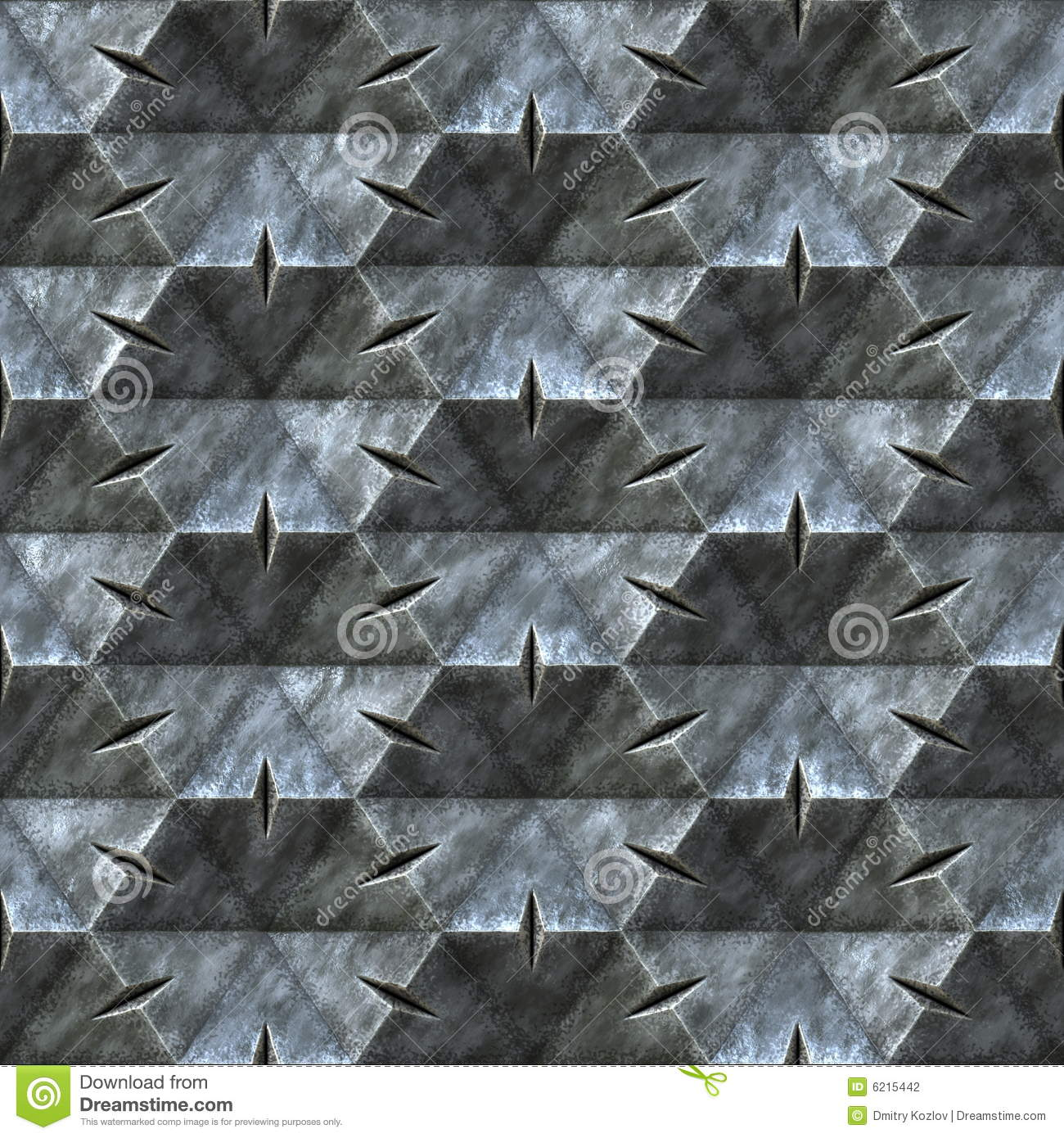 Royalty Free Stock Photo  Download Seamless metal texture. Seamless metal texture stock illustration  Image of zinc   6215442