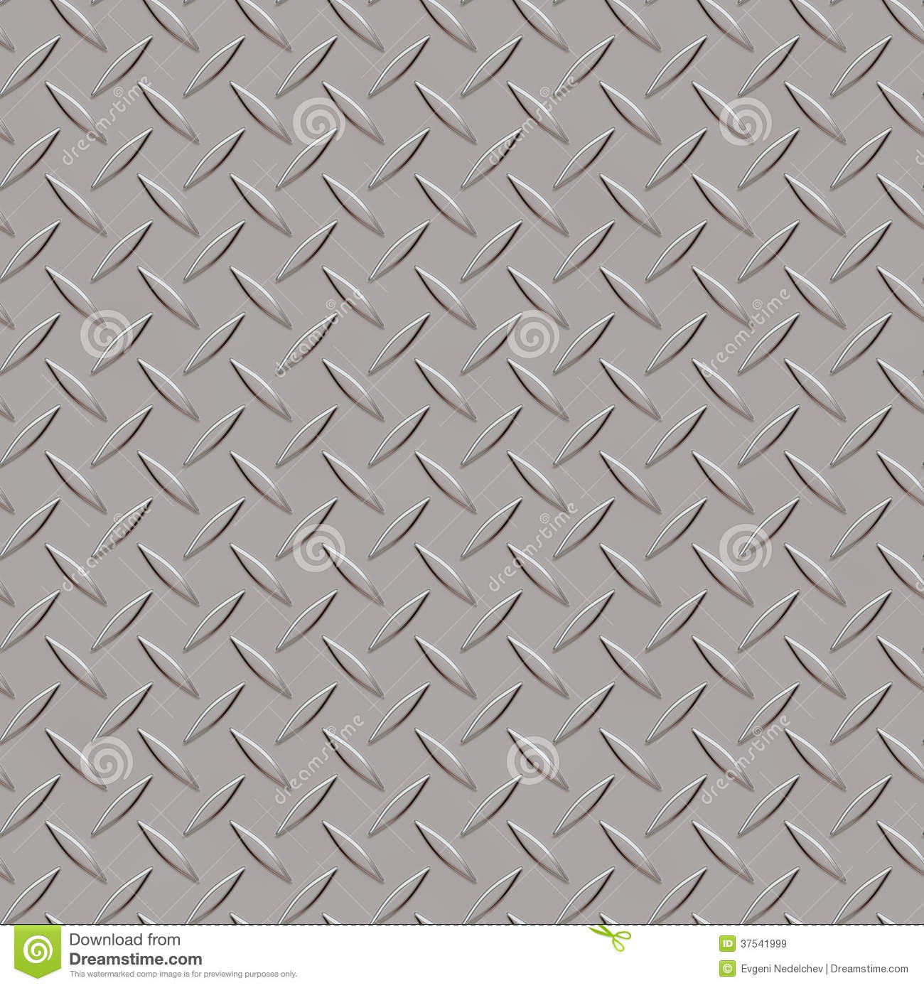 Seamless Metal Texture Rhombus Shapes 3 Royalty Free Stock