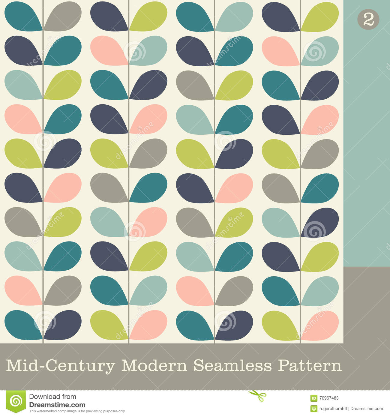 Gallery for mid century modern pattern vector - Mid century modern patterns ...
