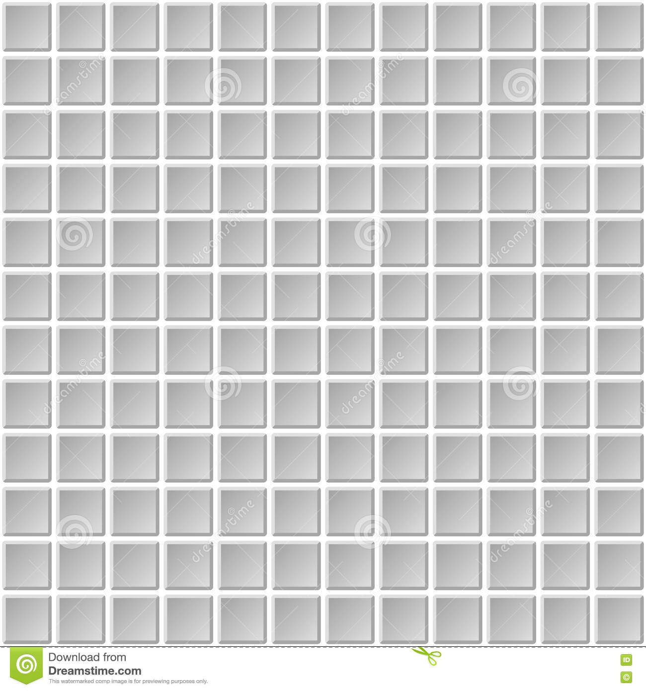 Seamless Mosaic Tiles Texture With White Filling Stock ...