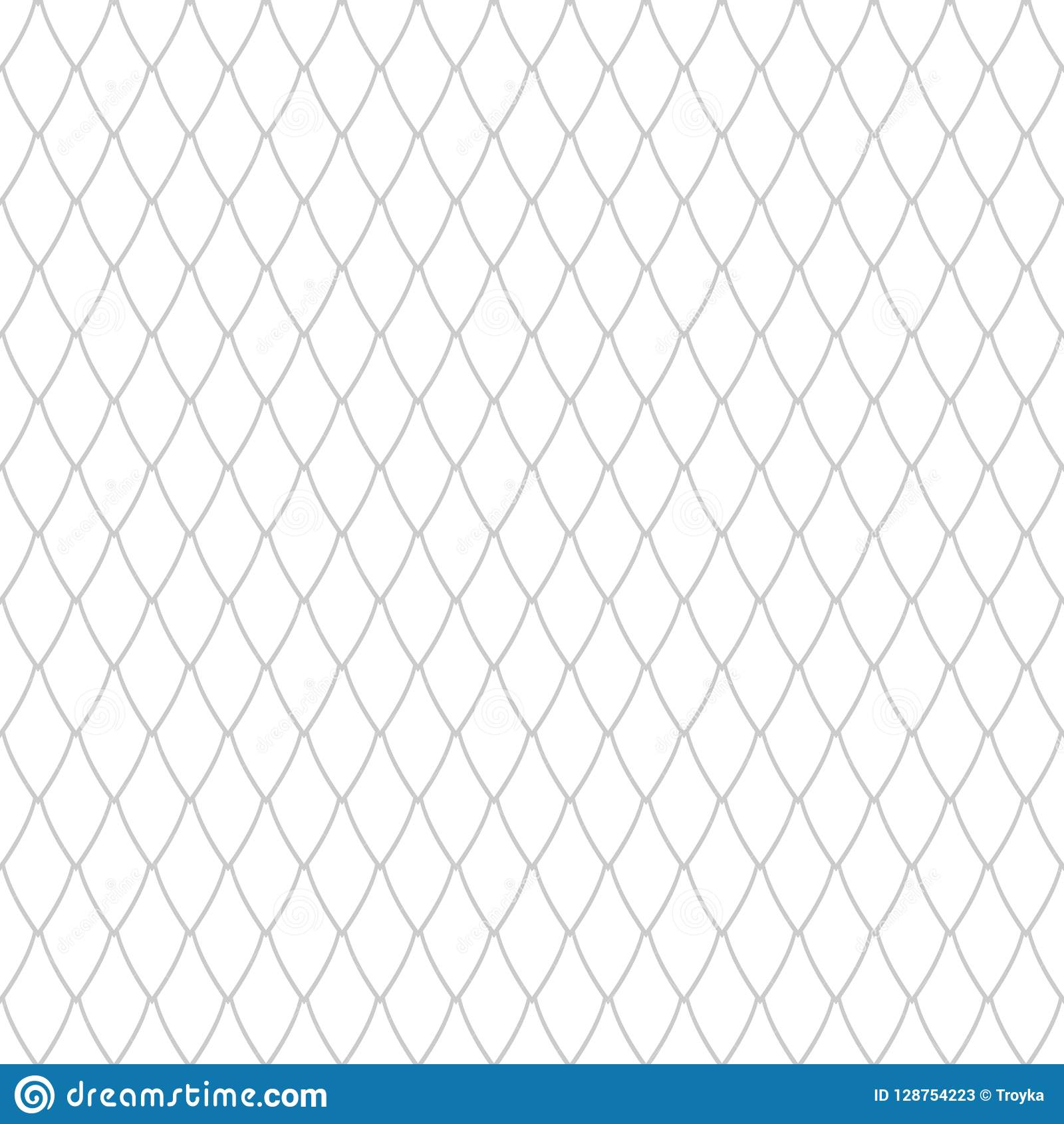 Seamless Net Pattern. Latticed Texture. Stock Vector ...