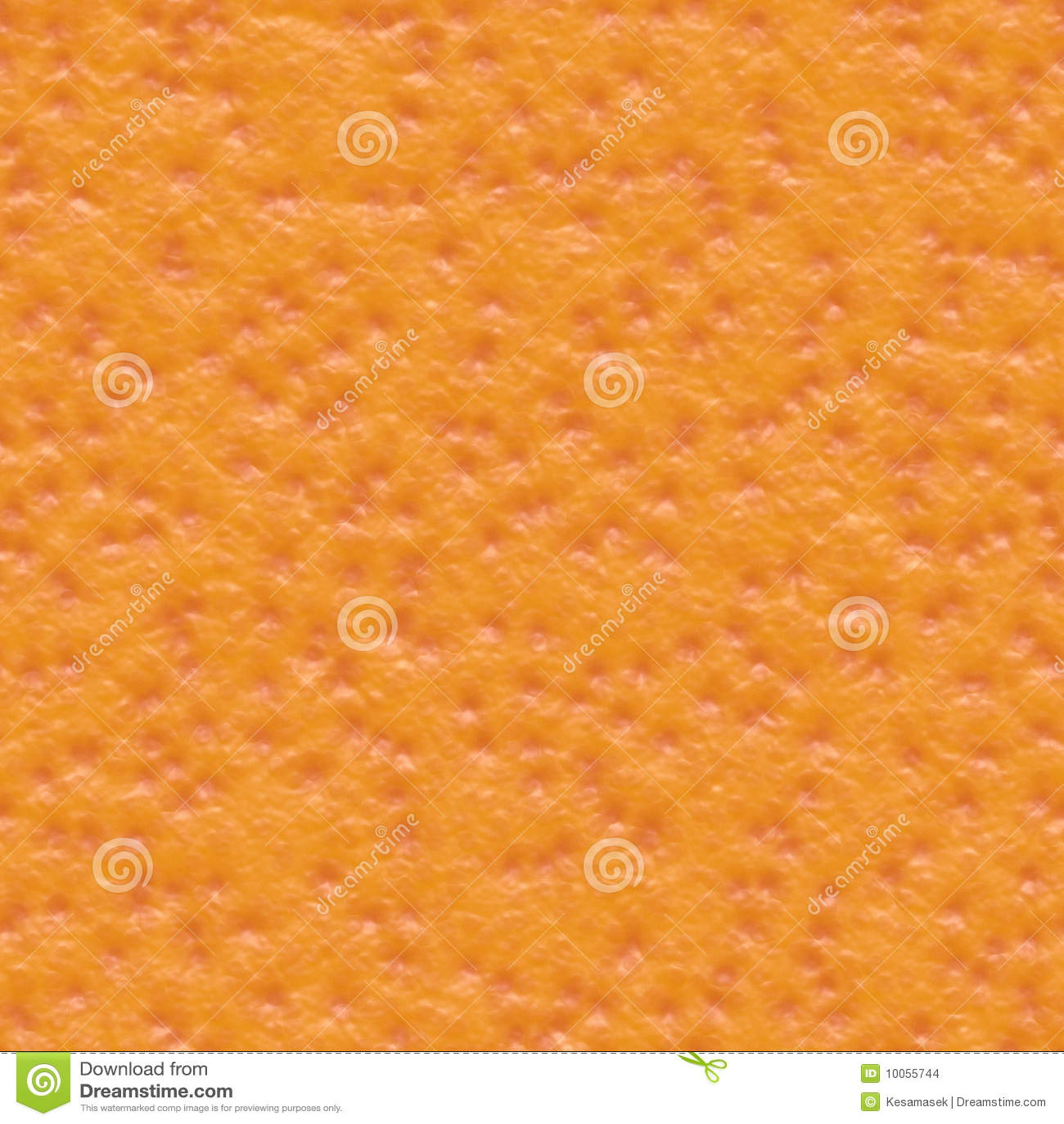 Seamless orange skin texture