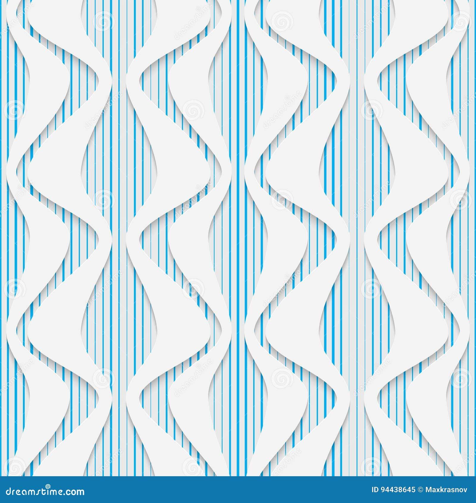 Seamless Origami Pattern. 3d Modern Lattice Background Stock Vector ...