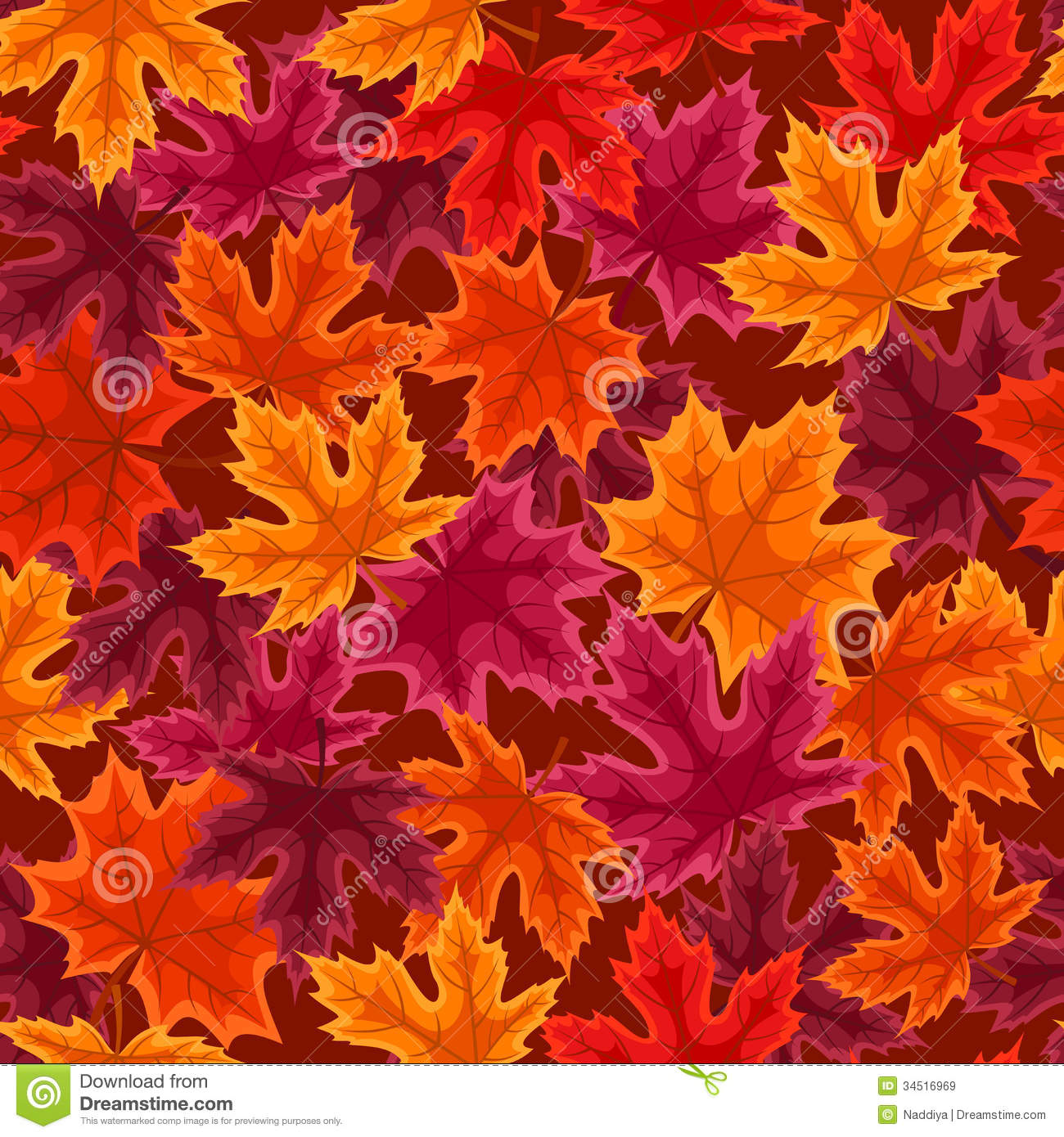 red leaves wallpaper pattern - photo #6