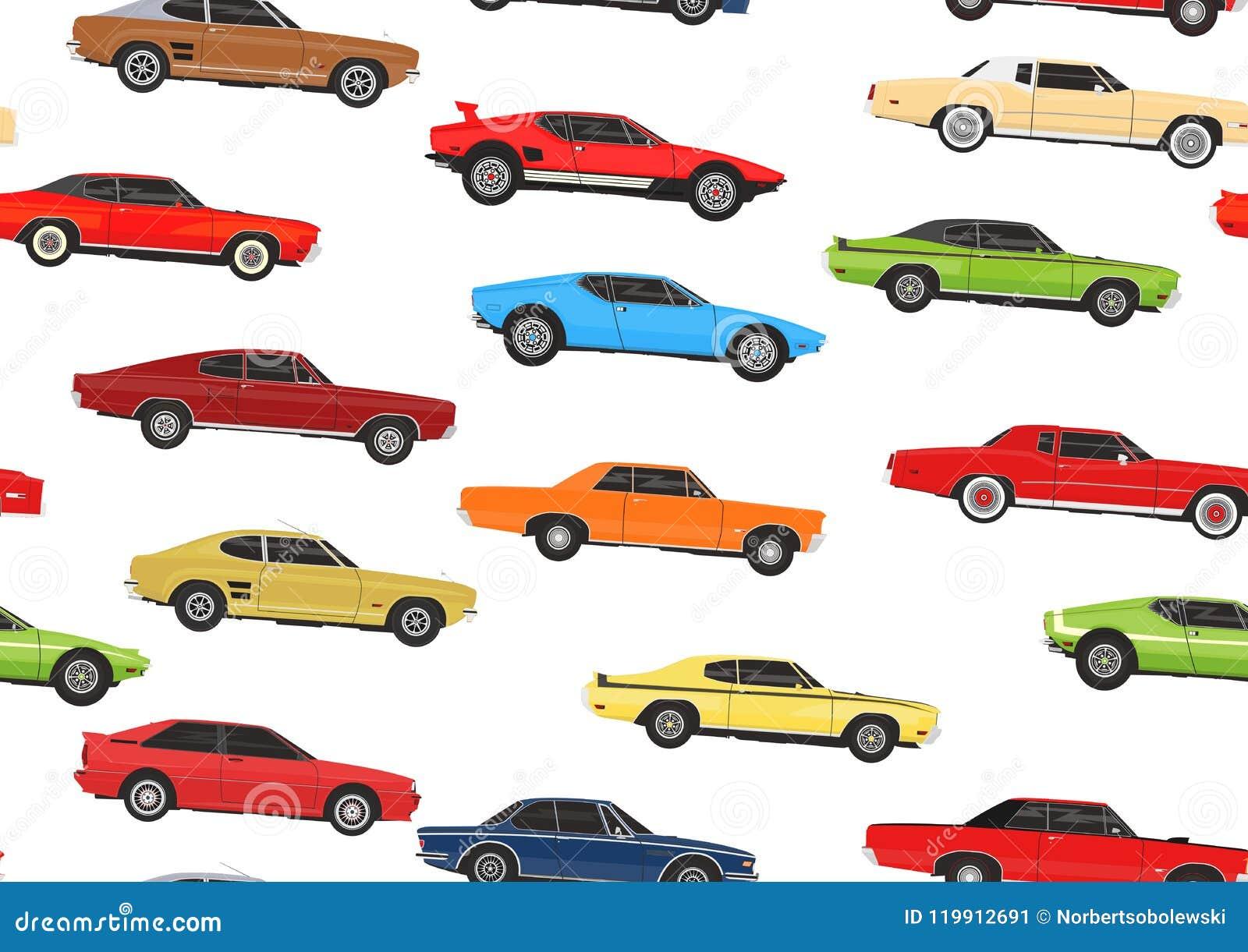 Seamless Pattern Background Stock Vector Illustration Of