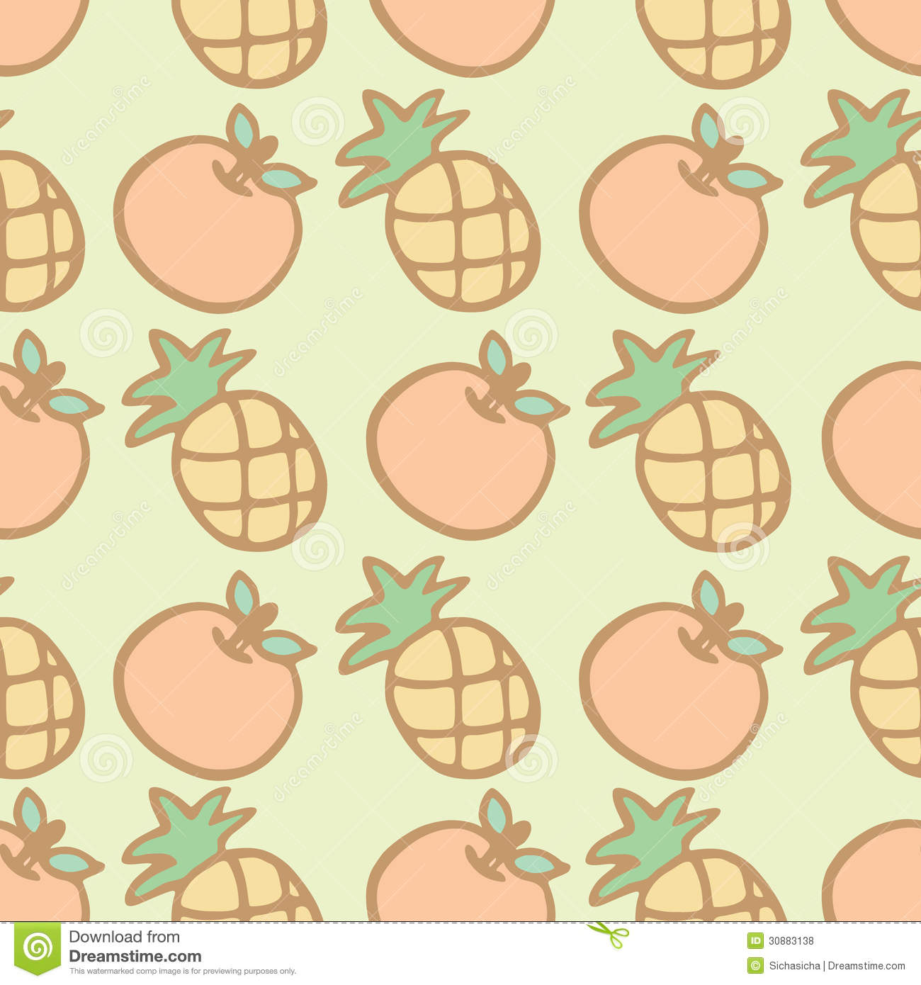 Cool Wallpaper Macbook Pineapple - seamless-pattern-background-cartoon-pineapple-orange-vector-illustration-30883138  Pictures_388216.jpg