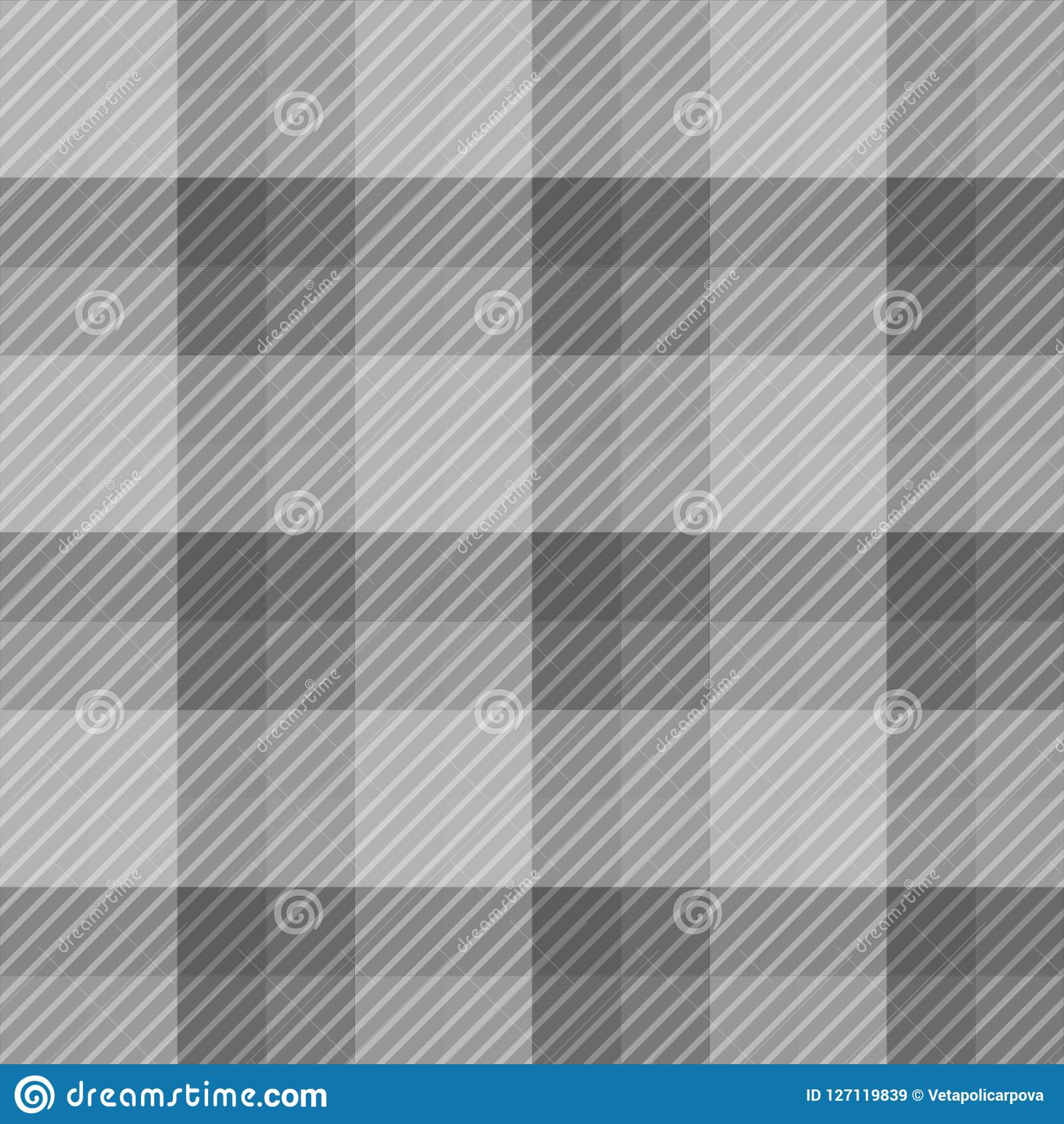 Seamless Pattern Background From A Variety Of Multicolored Squares