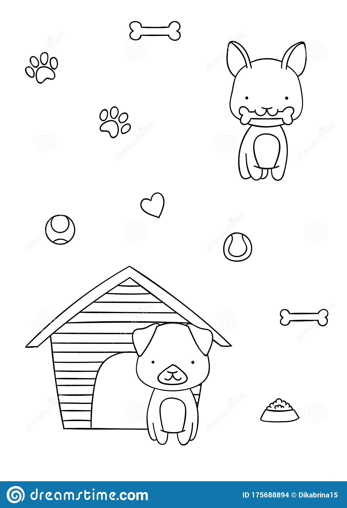 Paris Poster Doodle coloring page | Free Printable Coloring Pages | 1689x1152