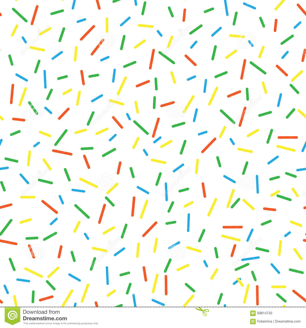 seamless pattern bright tasty vector donuts sprinkles chocolate cake clipart on white background chocolate cake clipart images