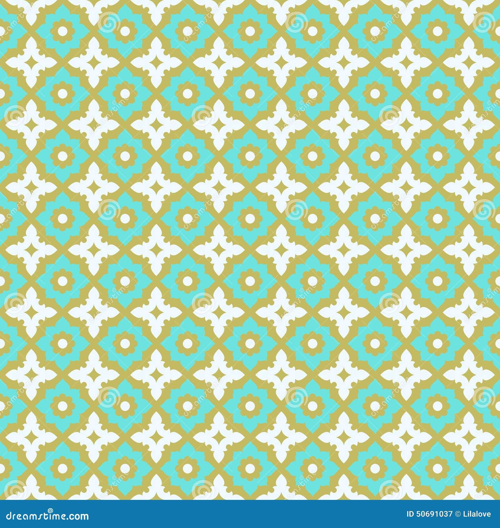 Seamless Pattern Ceramic Tile Design Stock Vector - Image: 50691037