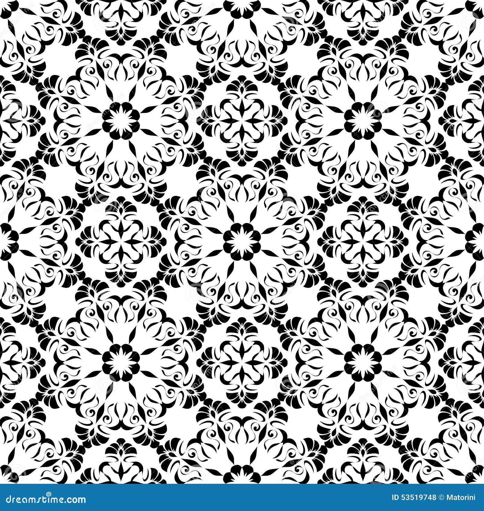 Elements Of Art Pattern : Seamless pattern of the elements art nouveau stock