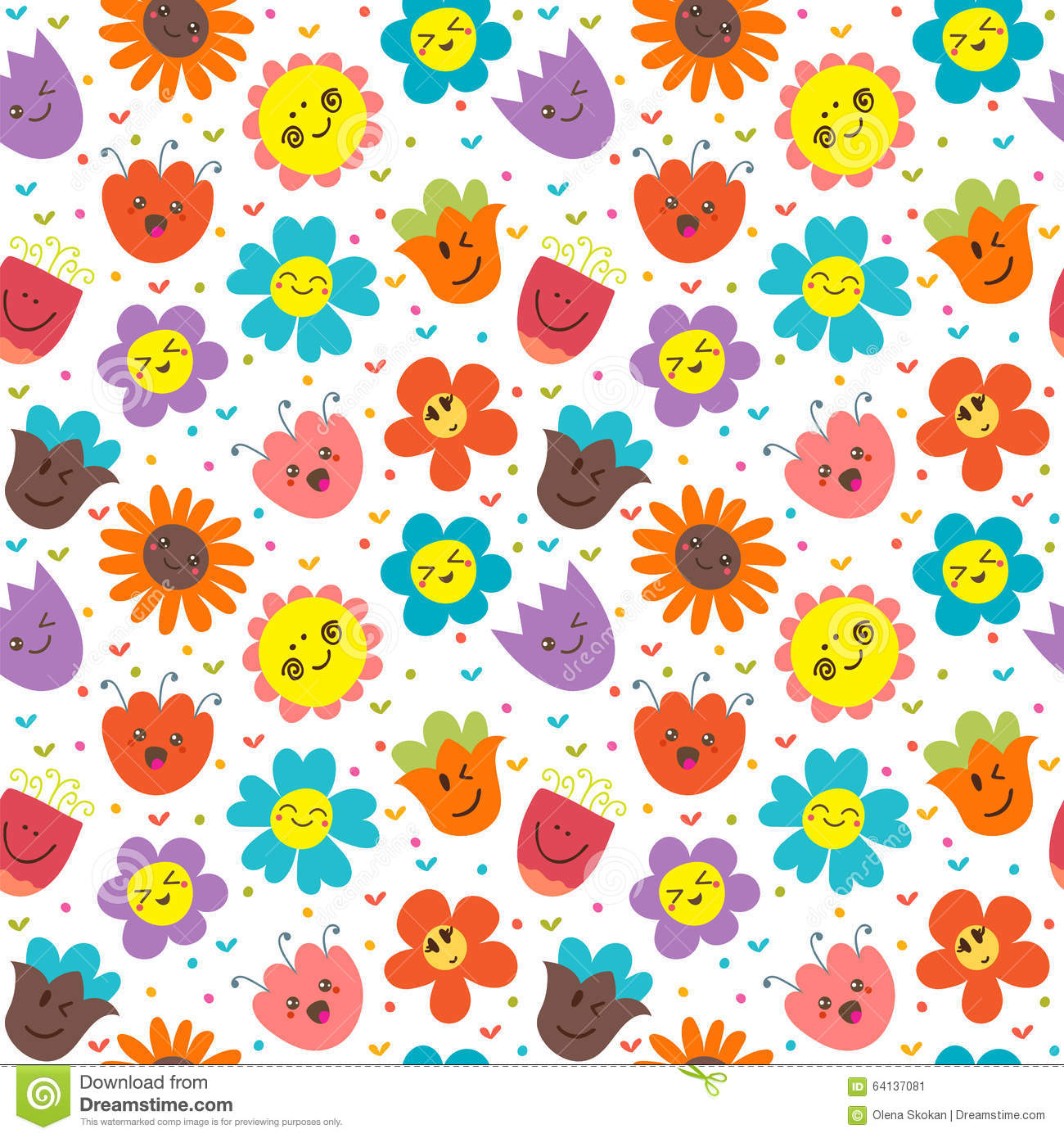 photo collection cute flower pattern backgrounds