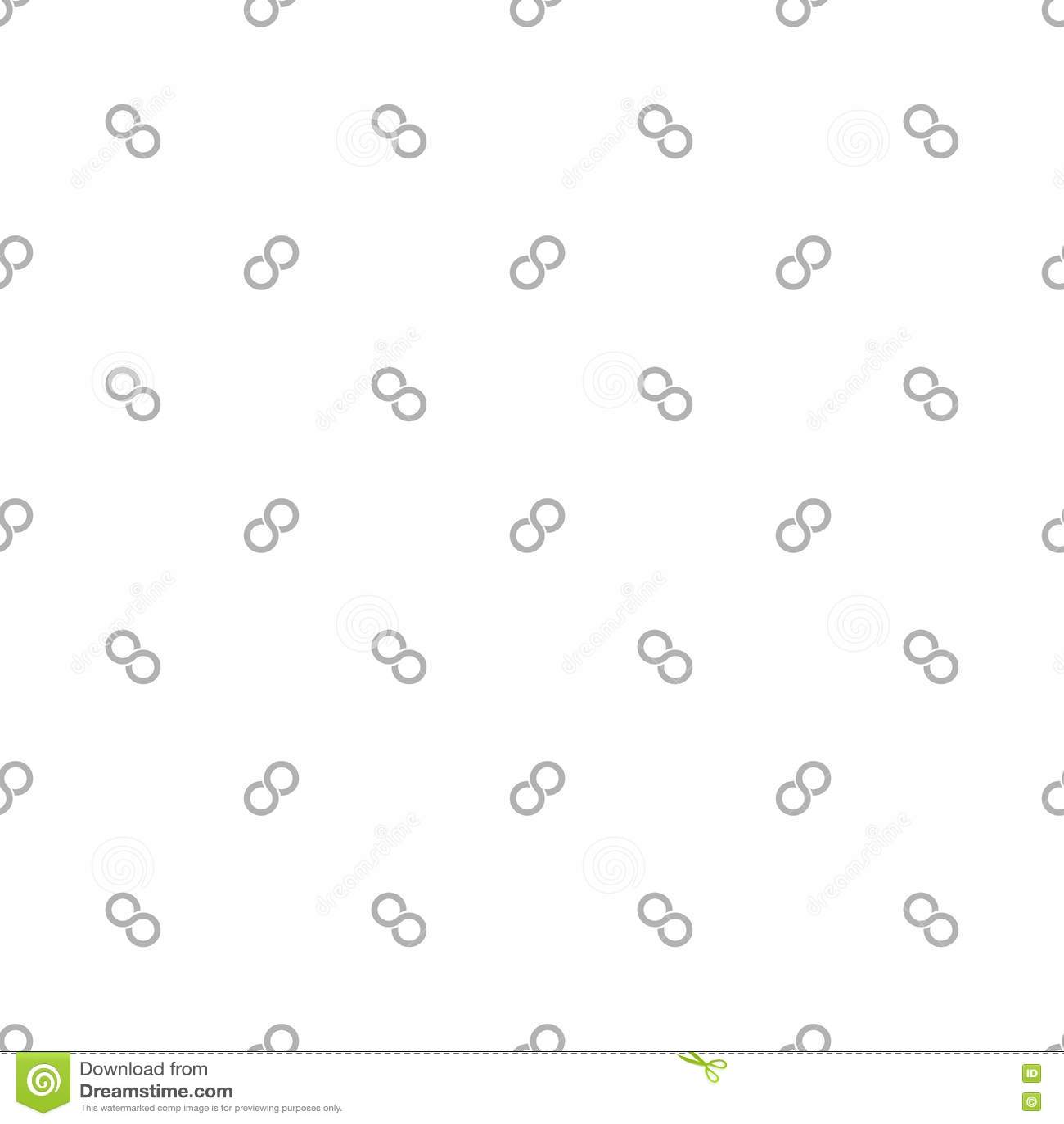 Seamless Pattern Of Infinity Symbol Stock Vector Illustration Of