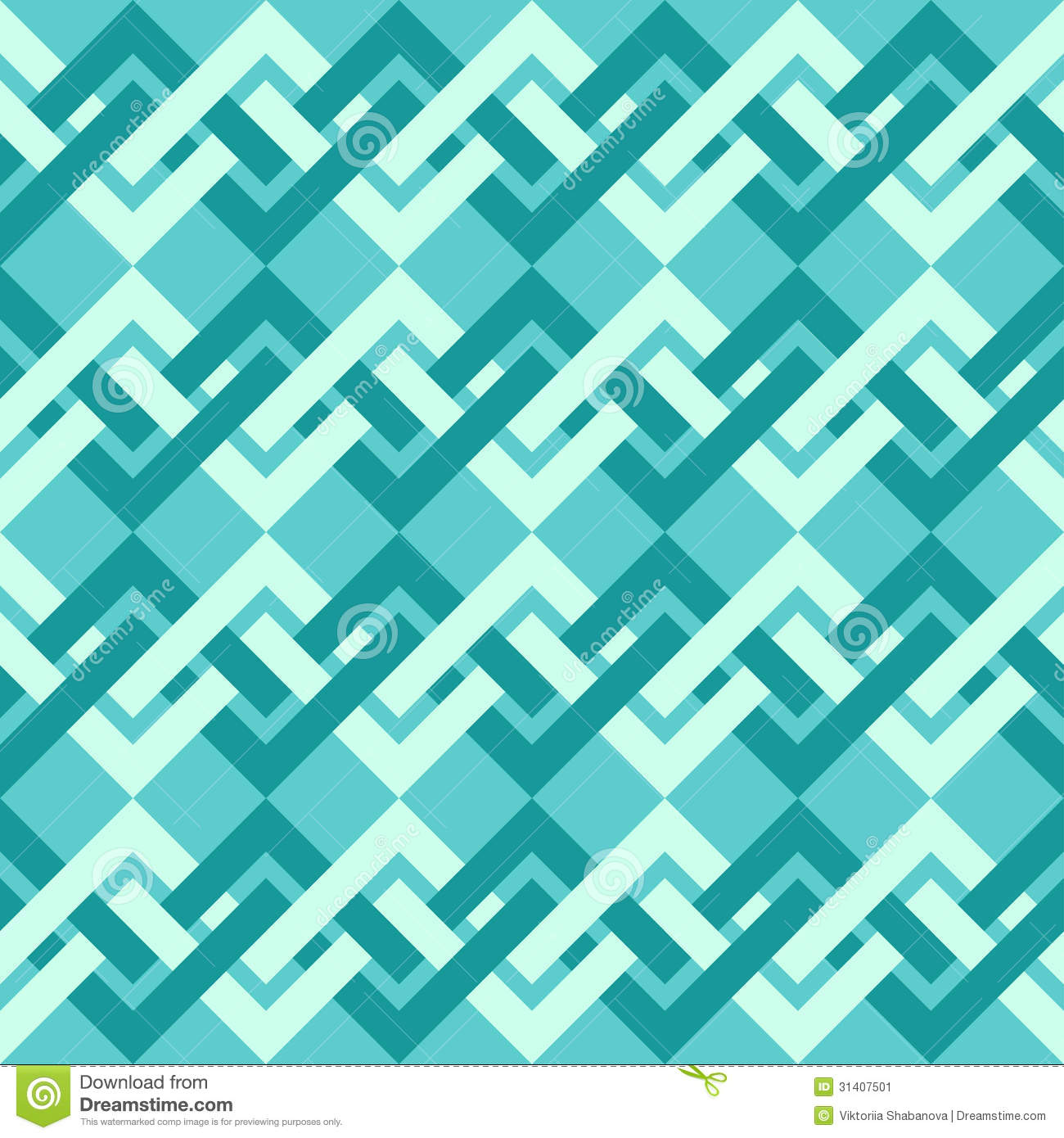 Scrapbook paper as wallpaper - Seamless Pattern Of Interlacing Lines In Retro Style