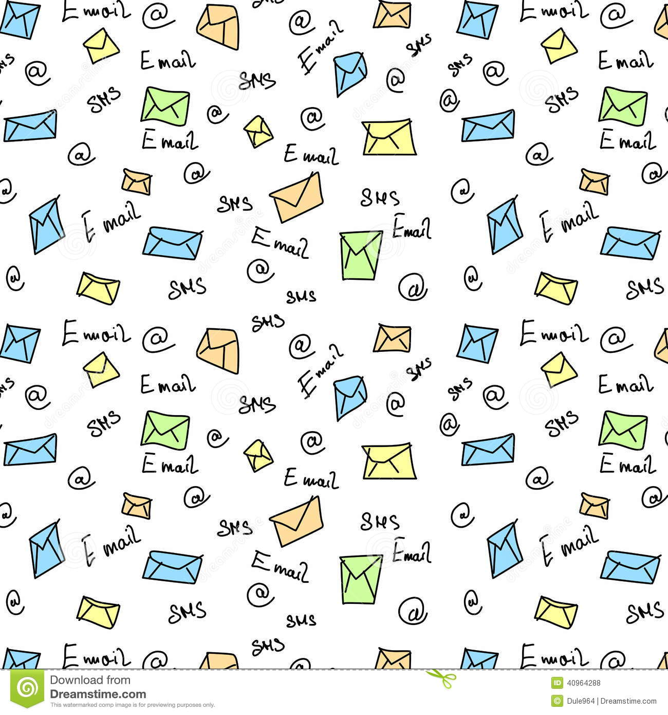 Seamless pattern letter sms e mail symbols stock illustration seamless pattern letter sms e mail symbols biocorpaavc Images