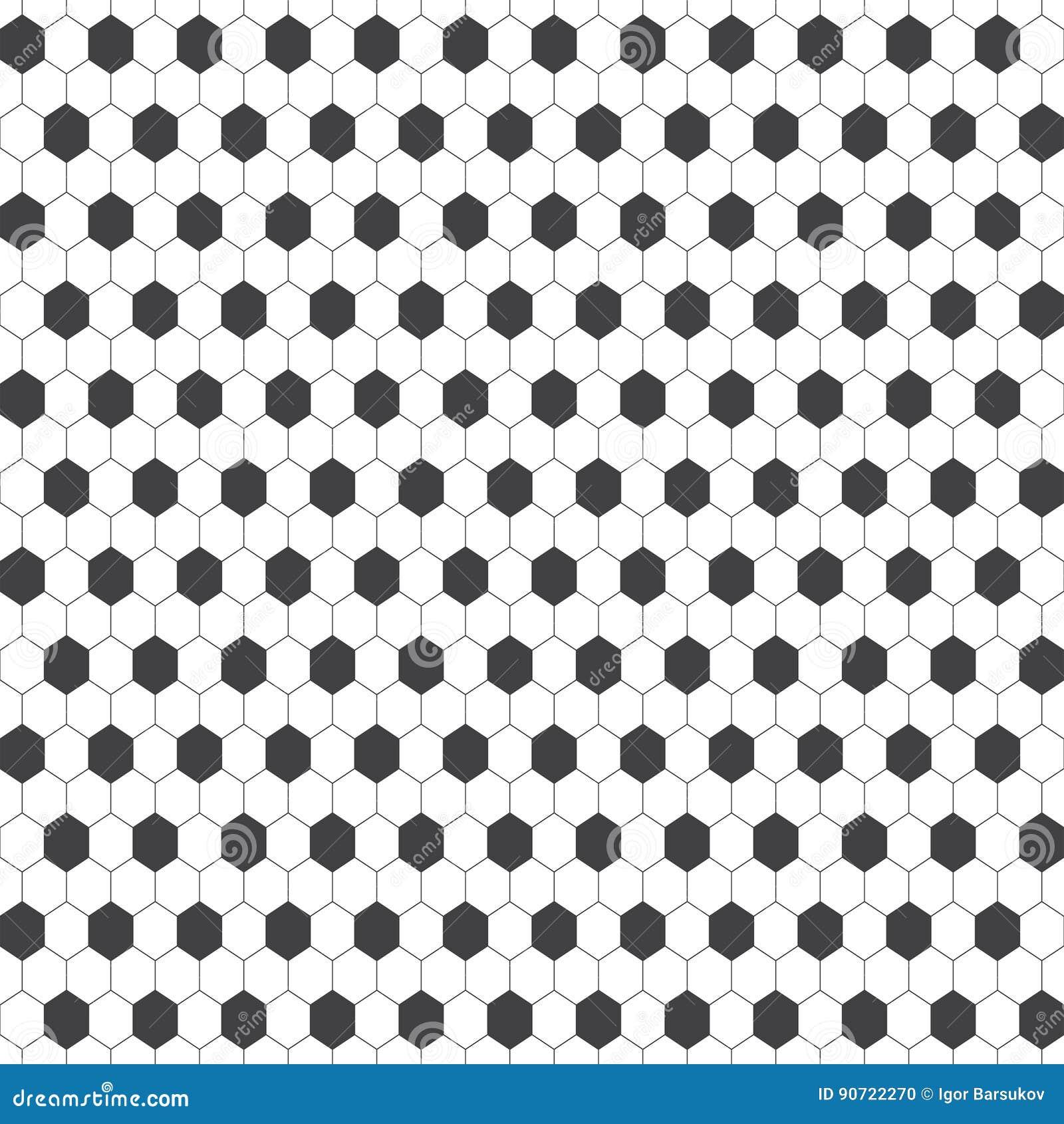 seamless pattern stock vector  illustration of hexagon