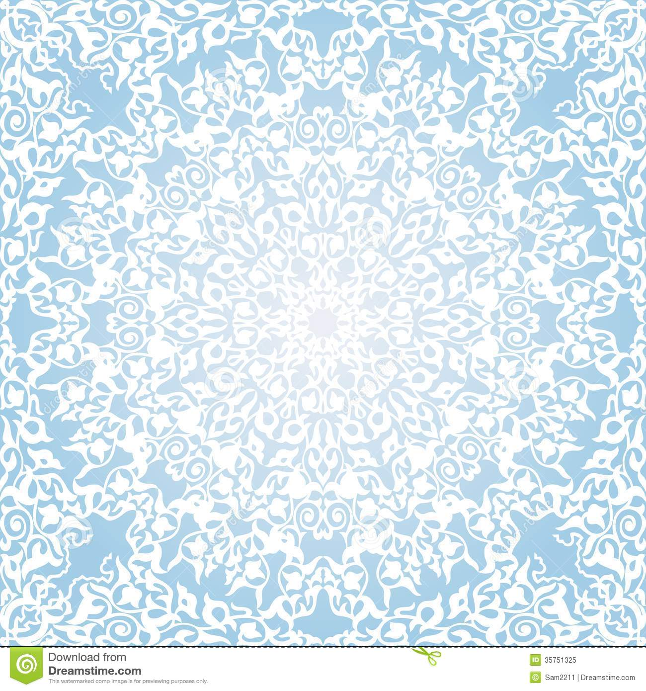 Seamless Pattern In Mosaic Ethnic Style Royalty Free