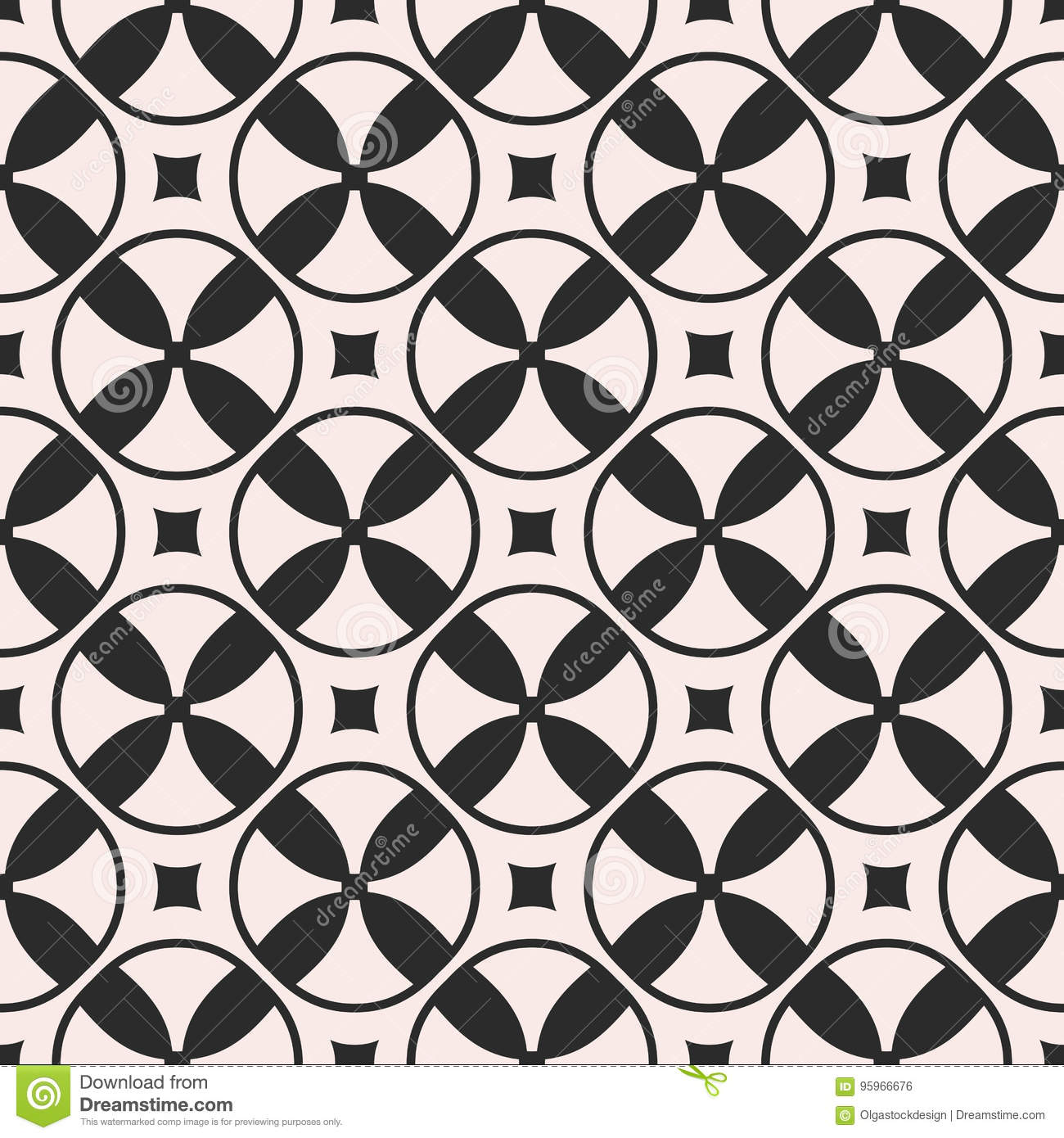 seamless pattern with mosaic texture. stock vector - illustration of