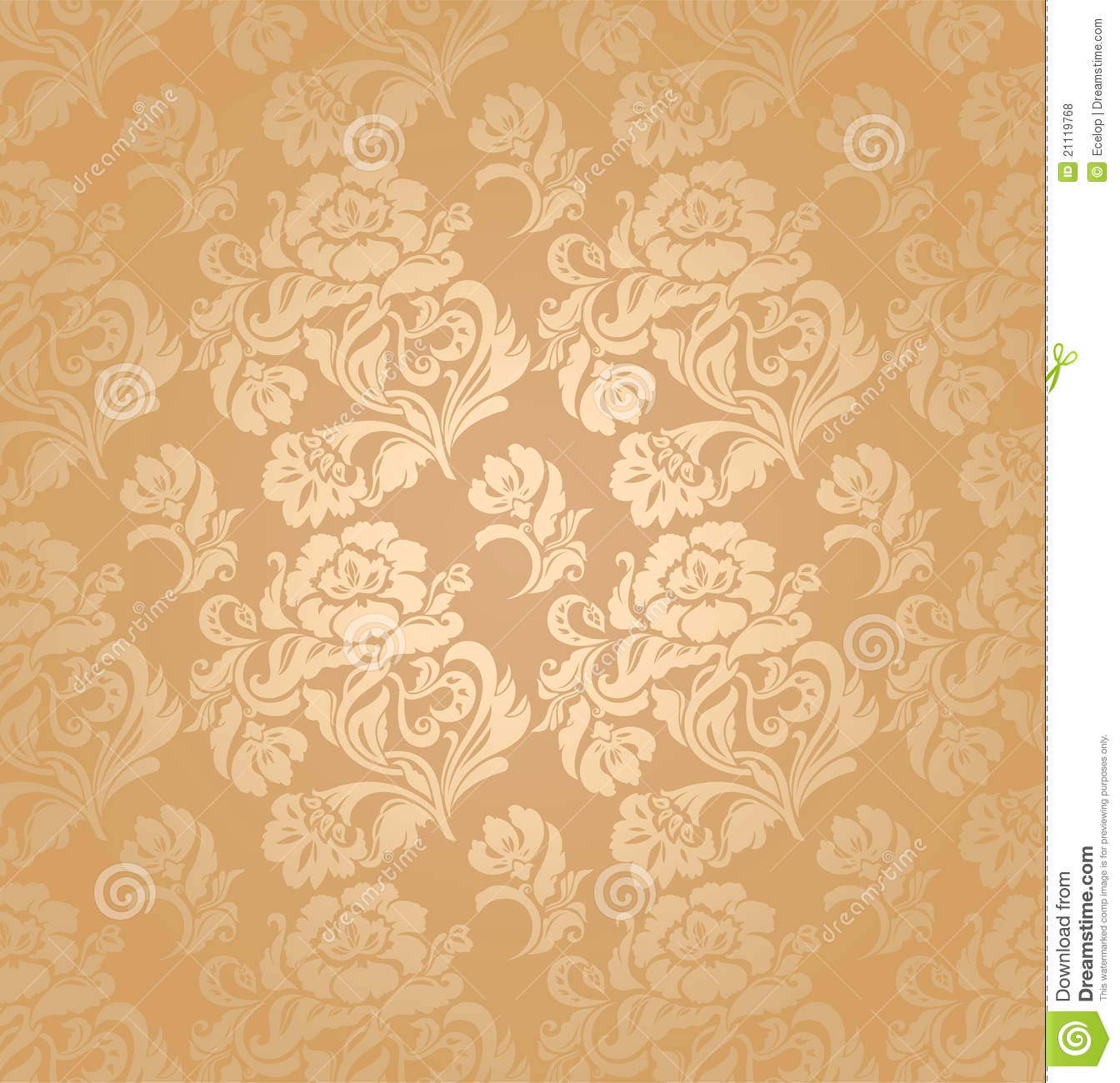 Seamless Pattern, Ornament Floral, Background Royalty Free ...