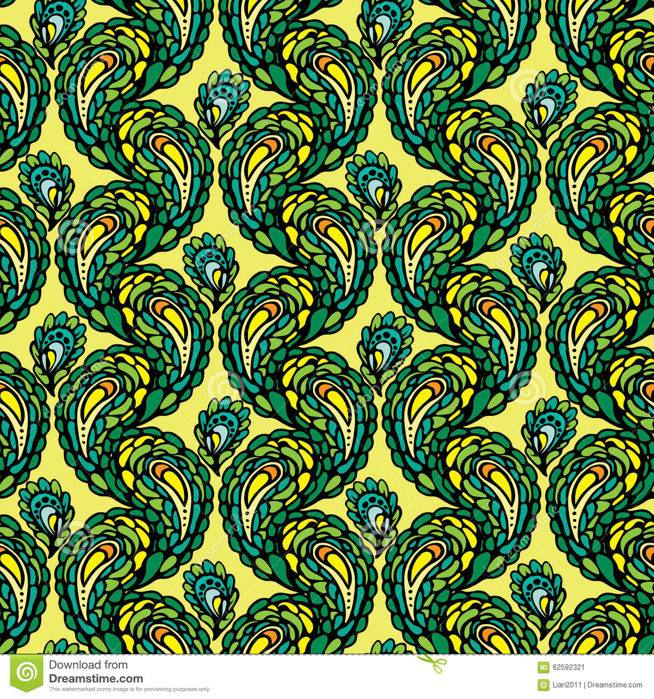 vector abstract peacock seamless - photo #22