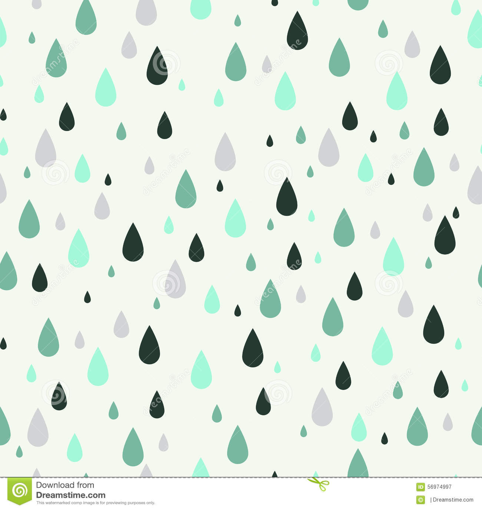 Drops Patterns Interesting Decoration
