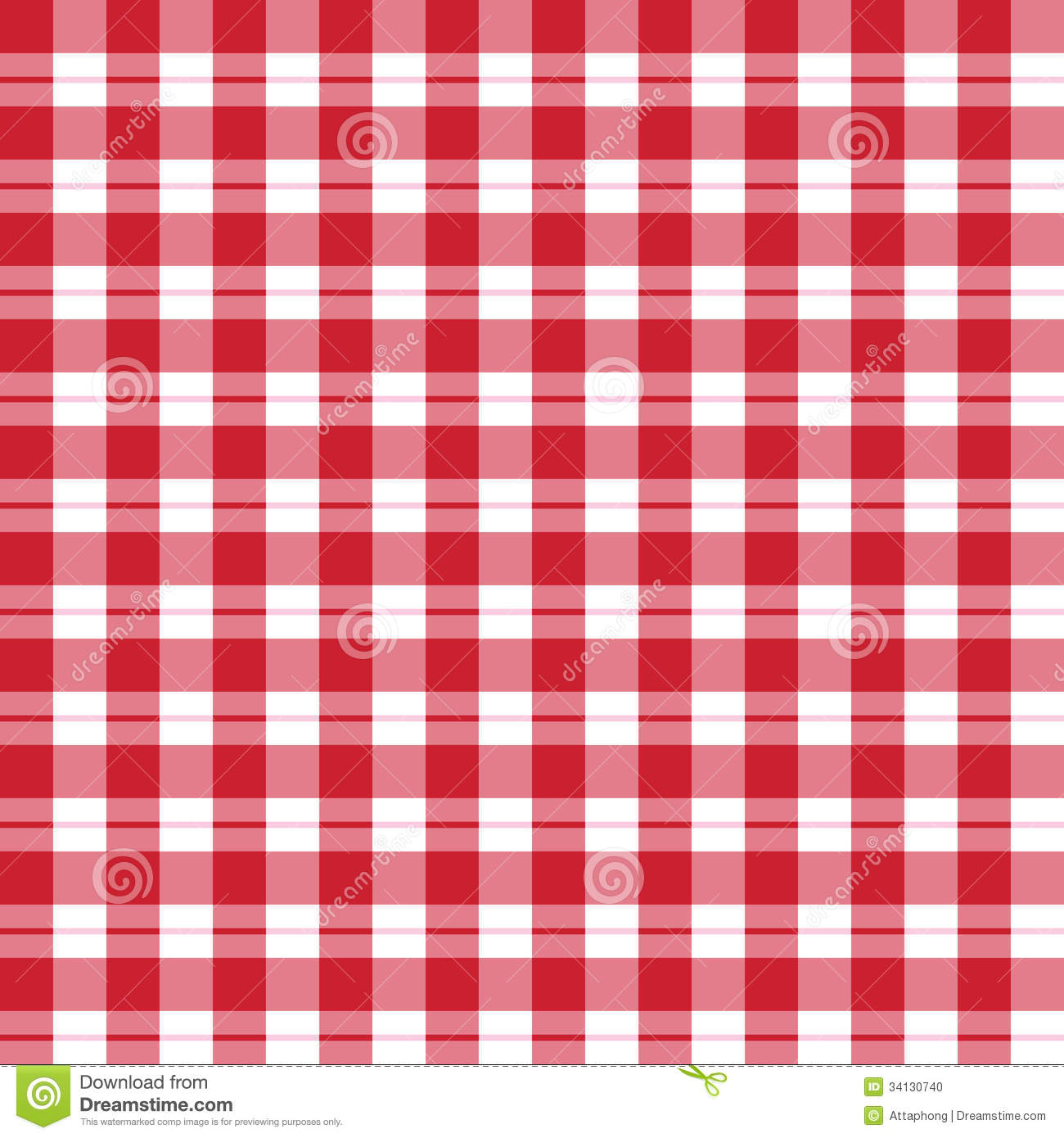 Seamless pattern red t...