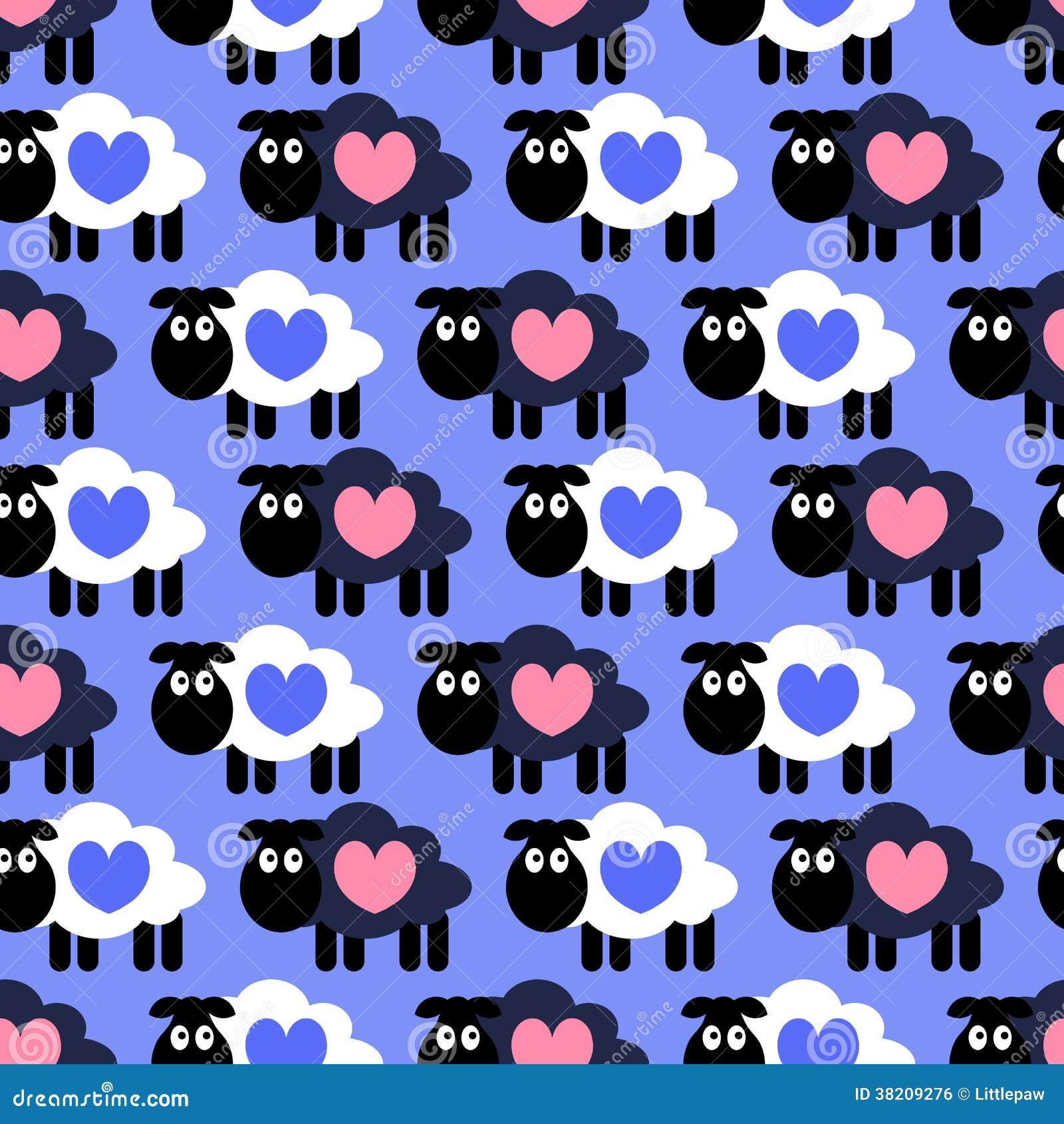 Free naked patterns sheep