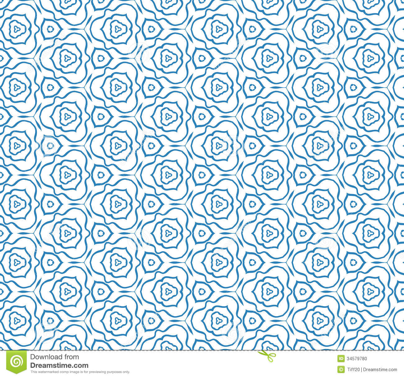 Seamless Pattern Stock Vector. Illustration Of Drawing