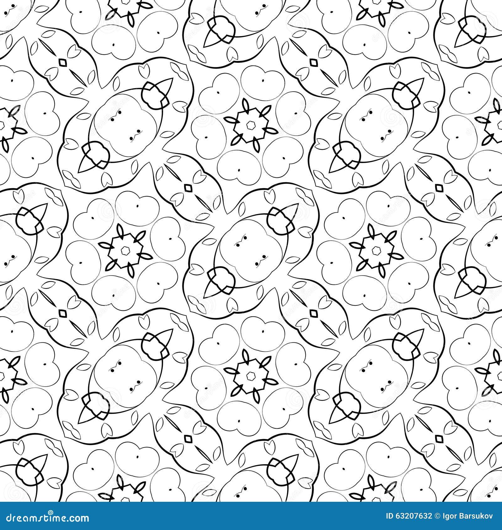 seamless pattern stock vector
