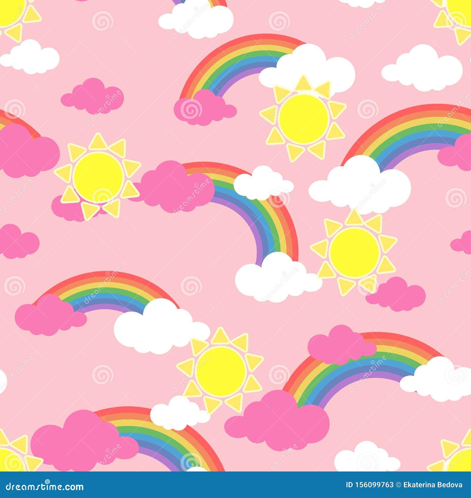Rainbow Wallpaper Stock Illustrations 206 126 Rainbow Wallpaper Stock Illustrations Vectors Clipart Dreamstime