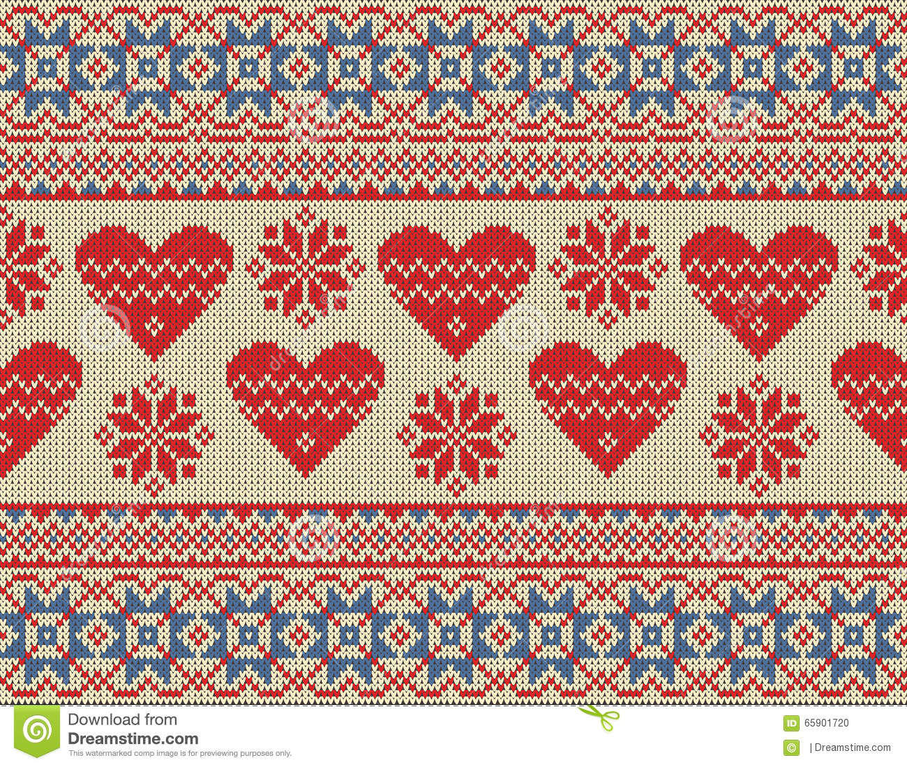Seamless Pattern On The Theme Of Valentine\'s Day With An Image Of ...