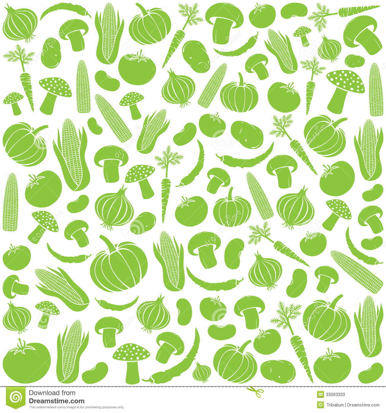 Vegetable pattern - photo#2
