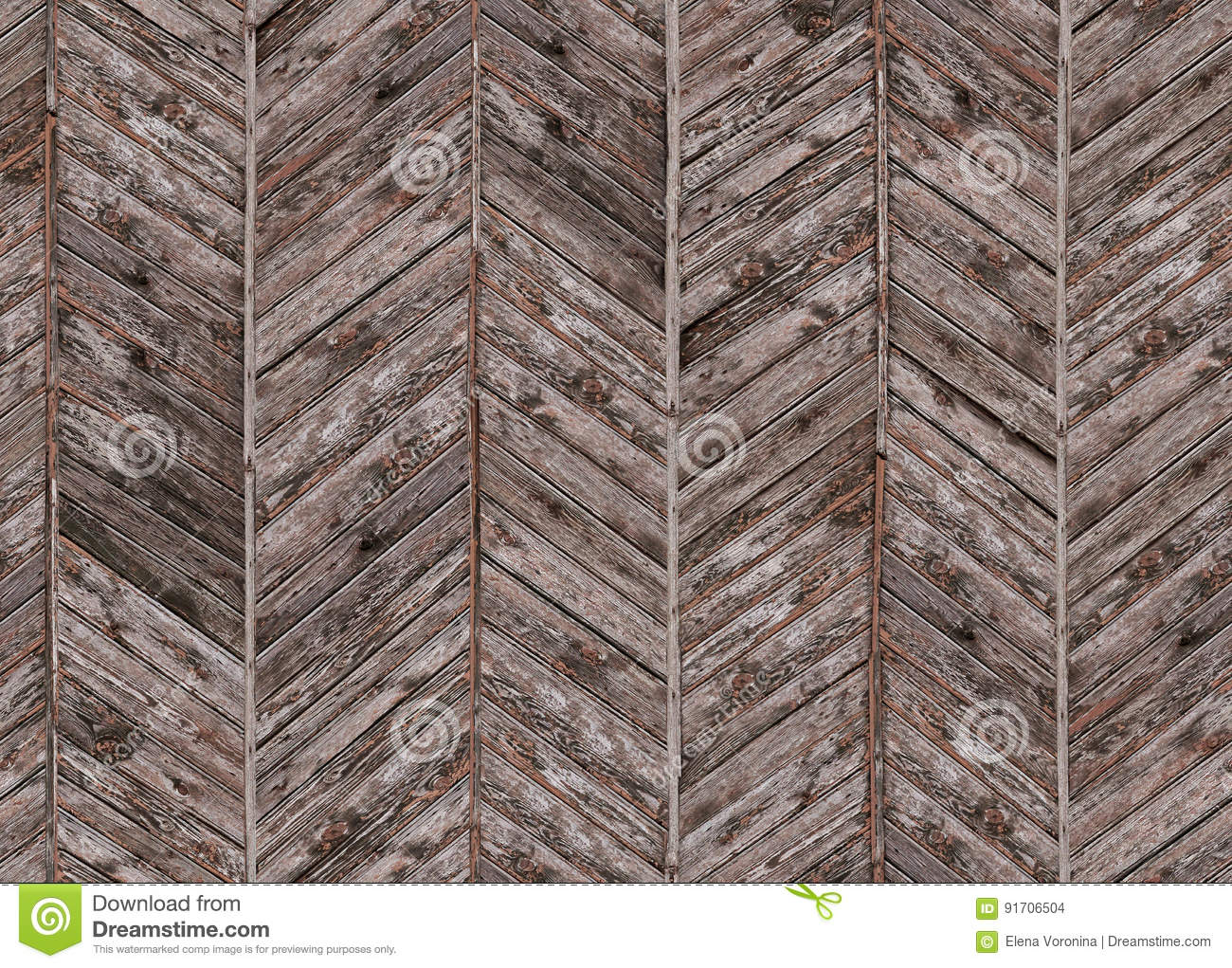 Seamless Pattern With Vintage Parquet Floor Panels Stock Photo