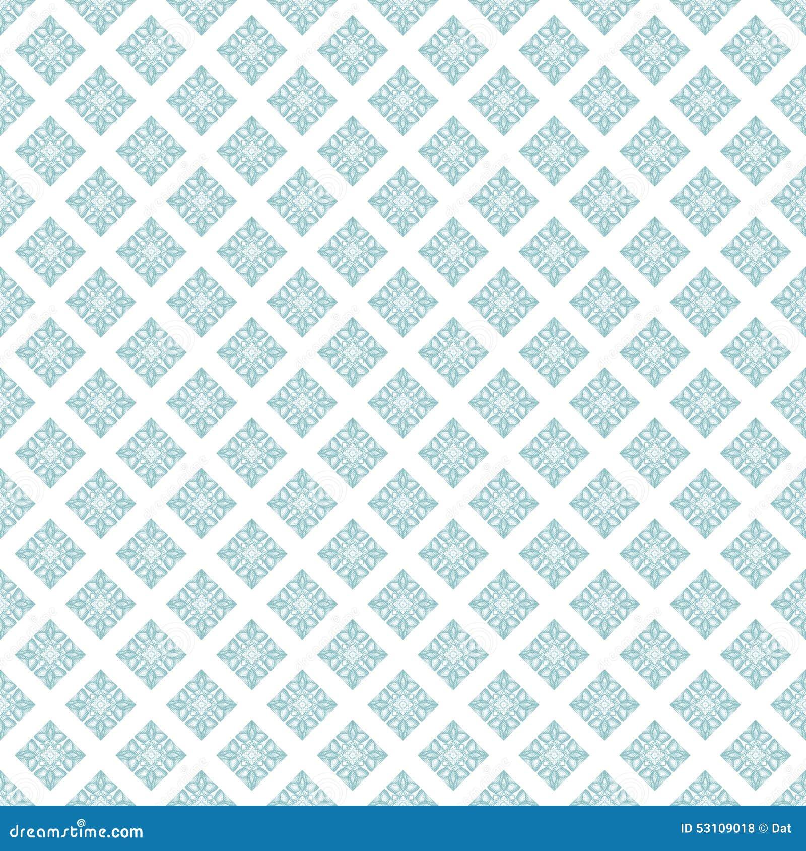 Seamless Pattern Wallpaper Stock Illustration Of