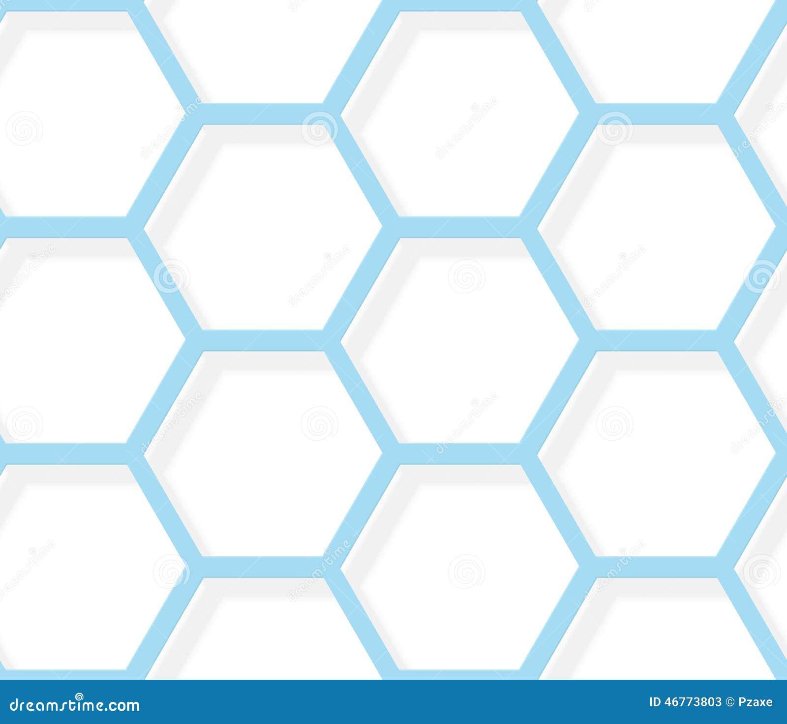 blue hexagonal pattern vector - photo #11