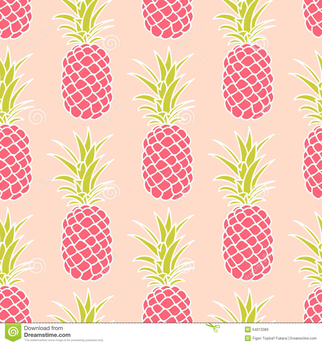 Pineapple pattern background - photo#17