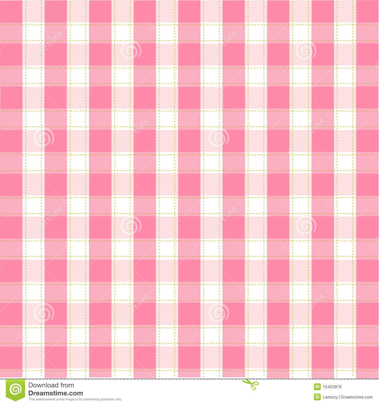 Seamless Pink Pattern Background Stock Vector Image