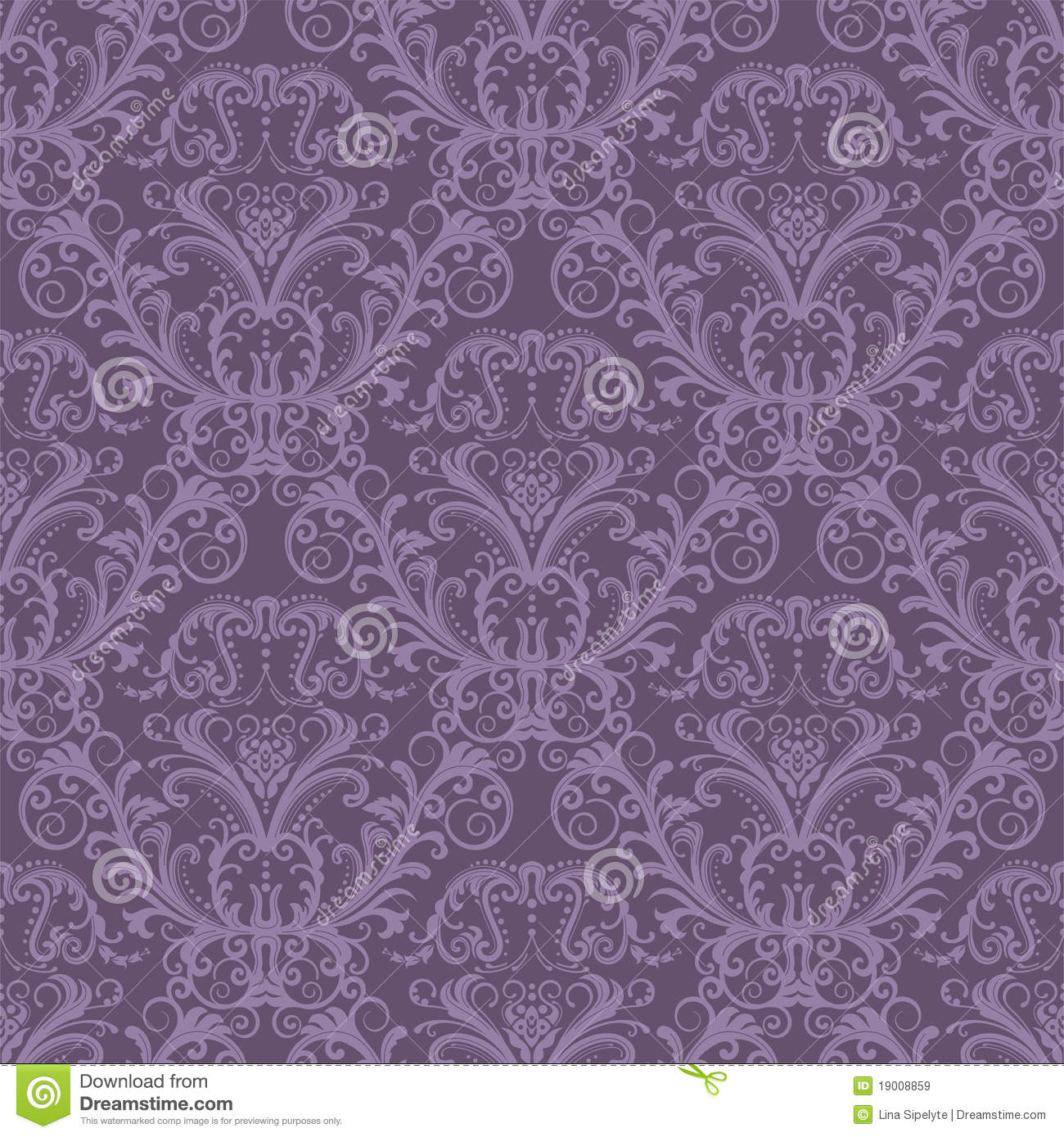 seamless purple floral wallpaper royalty free stock images  image, Natural flower
