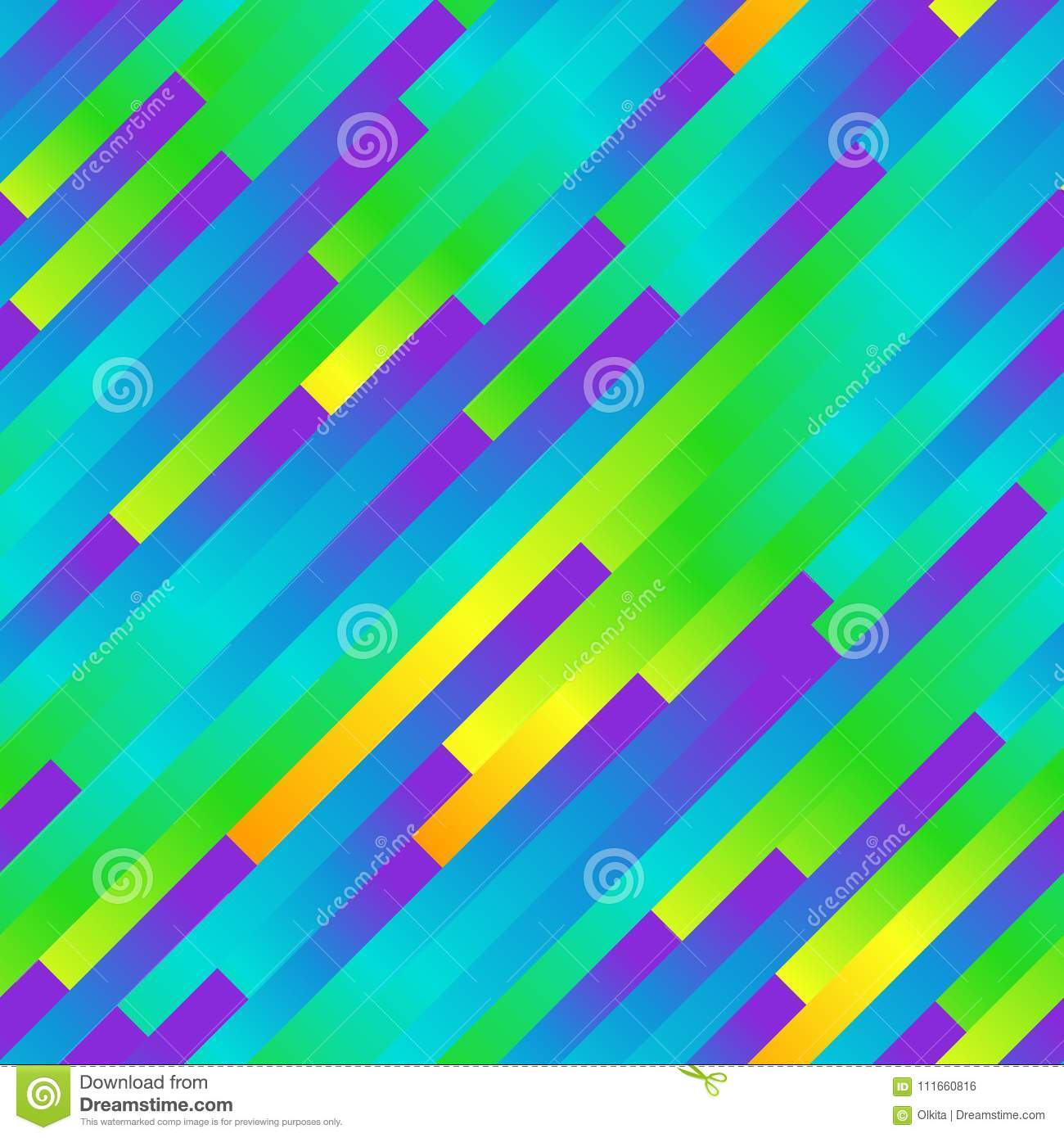 Seamless Rainbow Abstract Pattern Geometric Print Composed Of Colored Strips Colorful Bright Lines Background Stock Vector Illustration Of Graphic Geometry 111660816