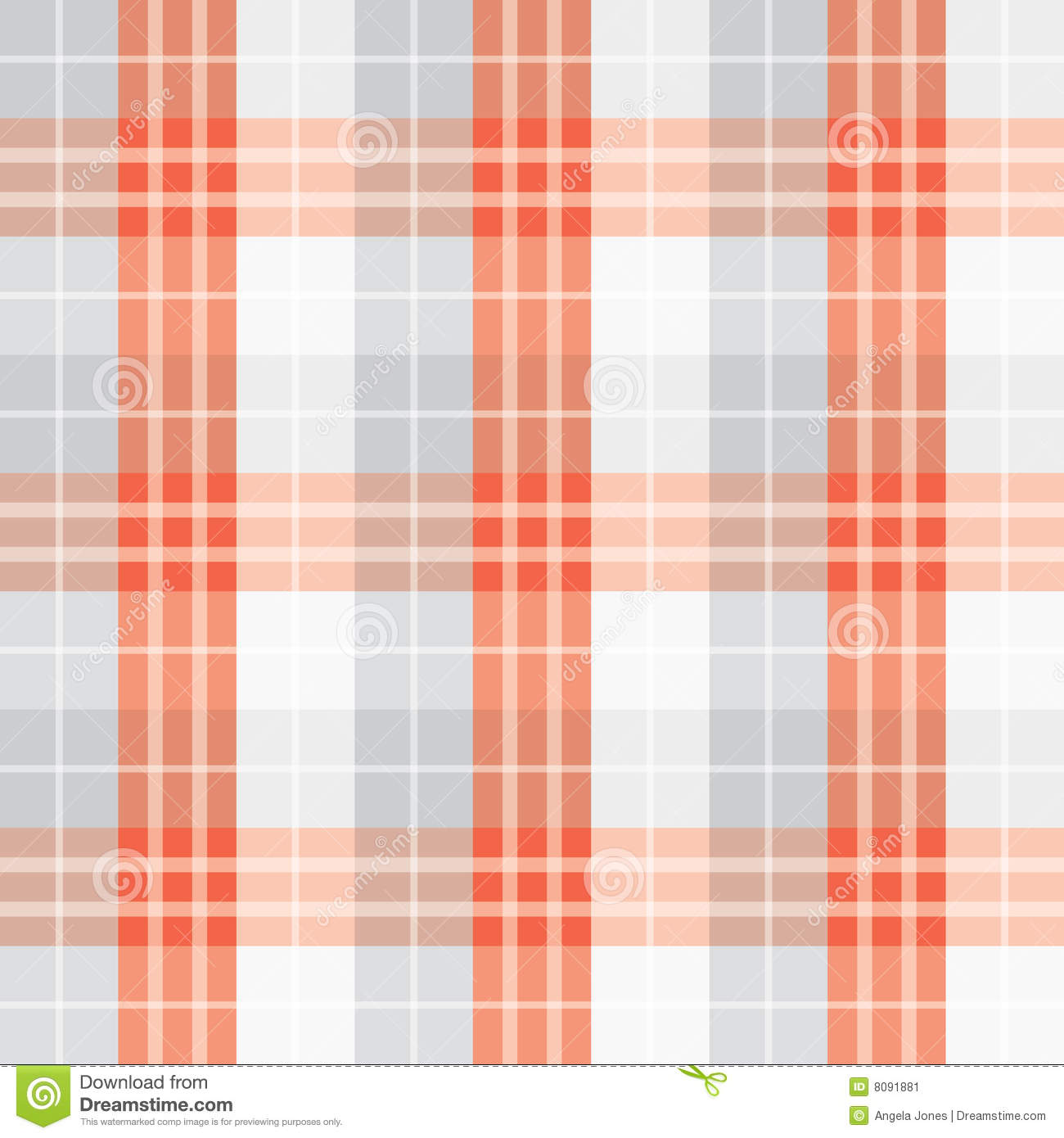 Seamless red checked pattern